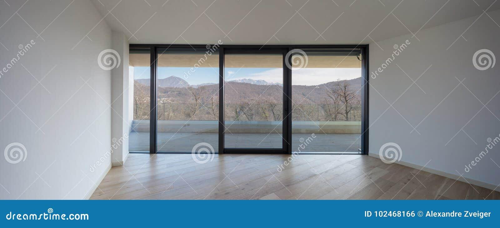 Esta é uma sala vazia