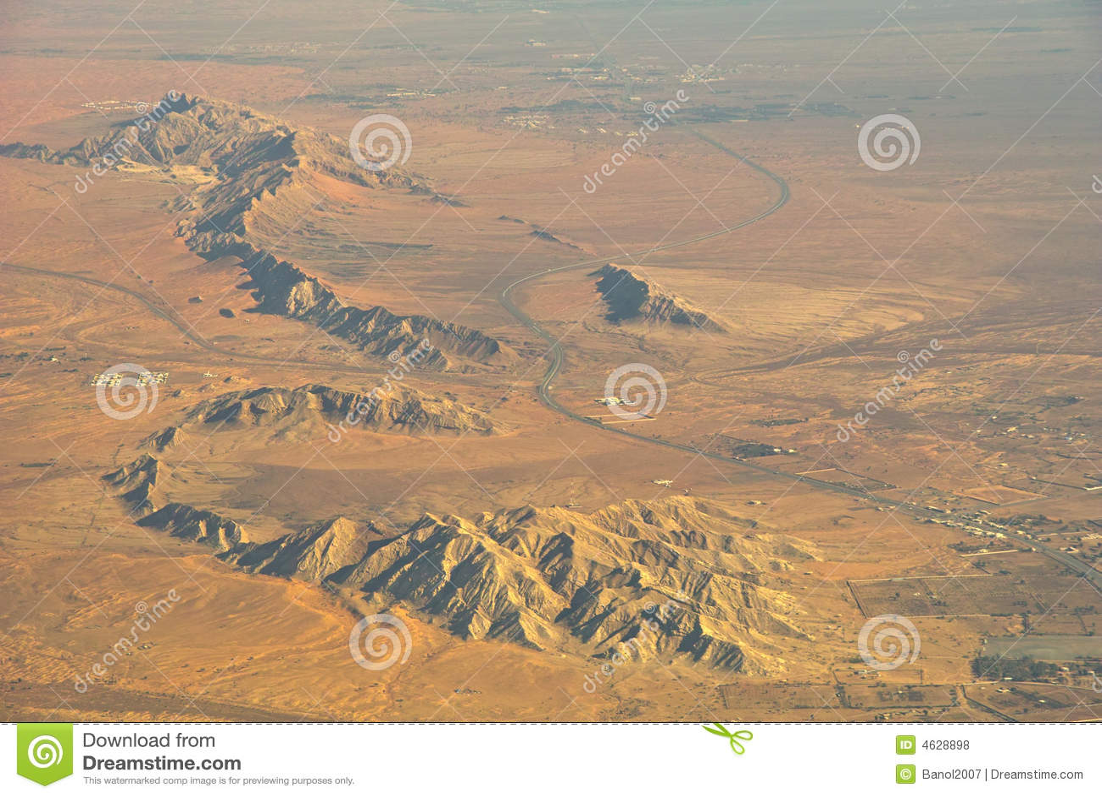 Estabelecimento do deserto das montanhas.