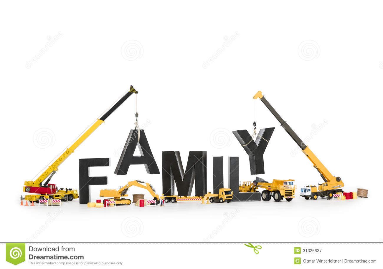 Free Home Building Plans Establish A Family Machines Building Family Word Stock
