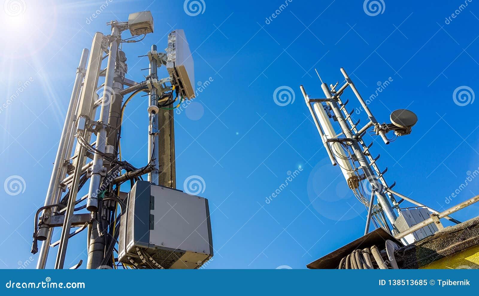 Estación base elegante de la antena de la red de radio del teléfono móvil 5G