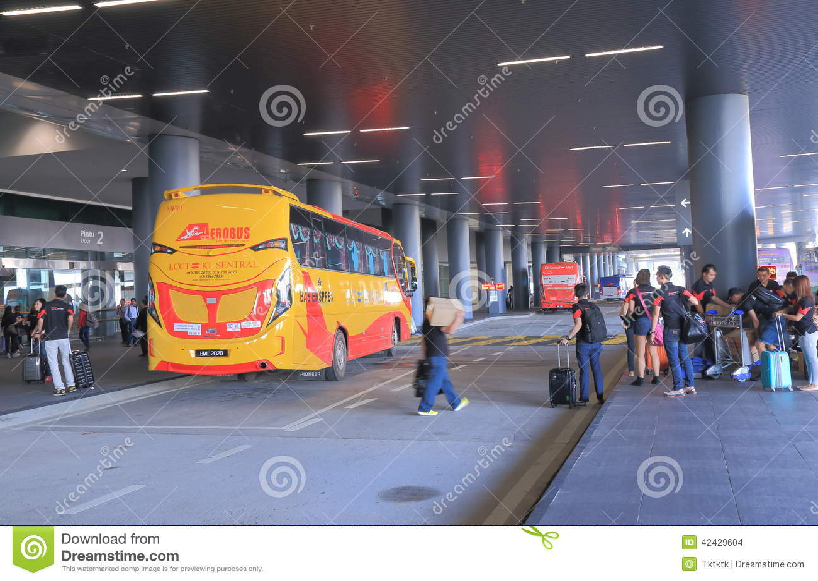 Estación de autobúses de Kuala Lumpur Airport 2