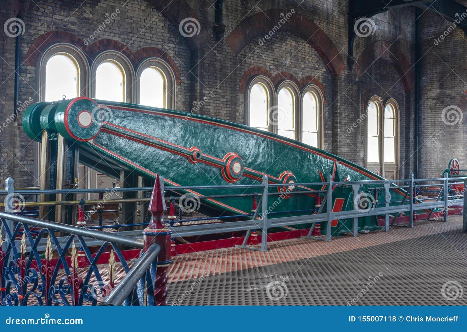 Estación de bombeo victoriana del enojo