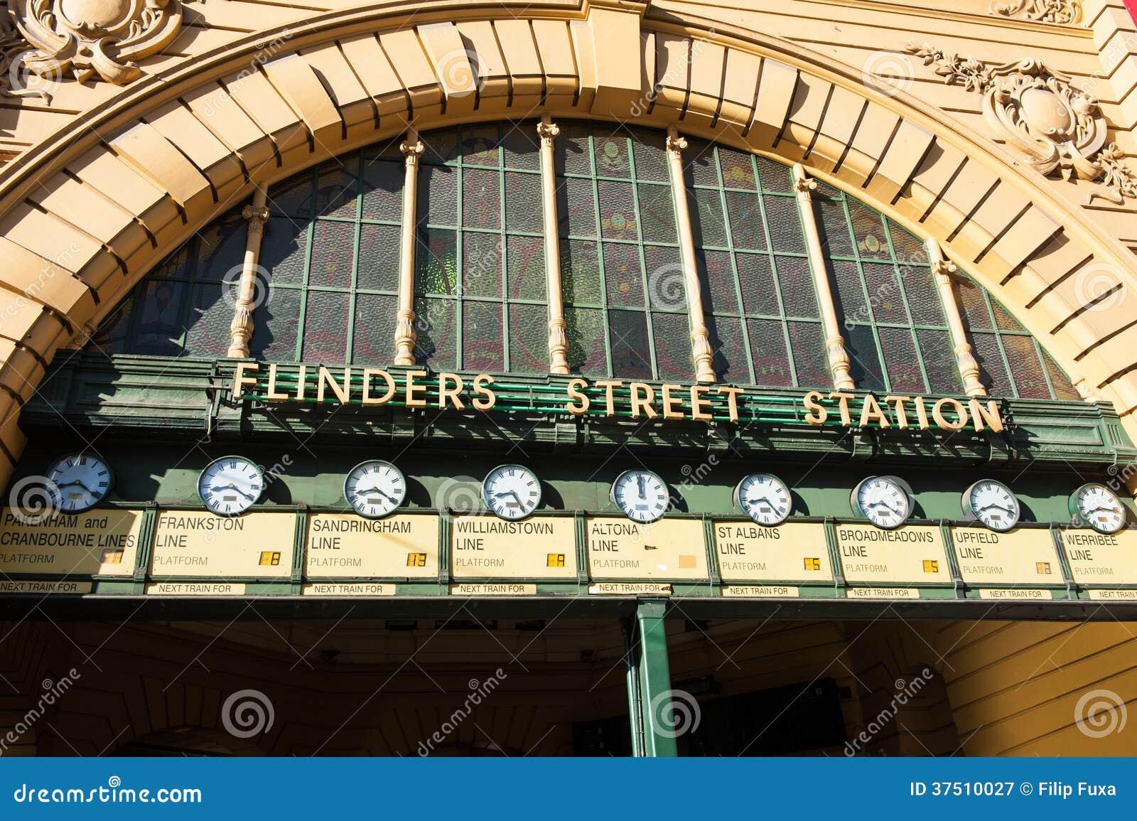 Estación de la calle del Flinders