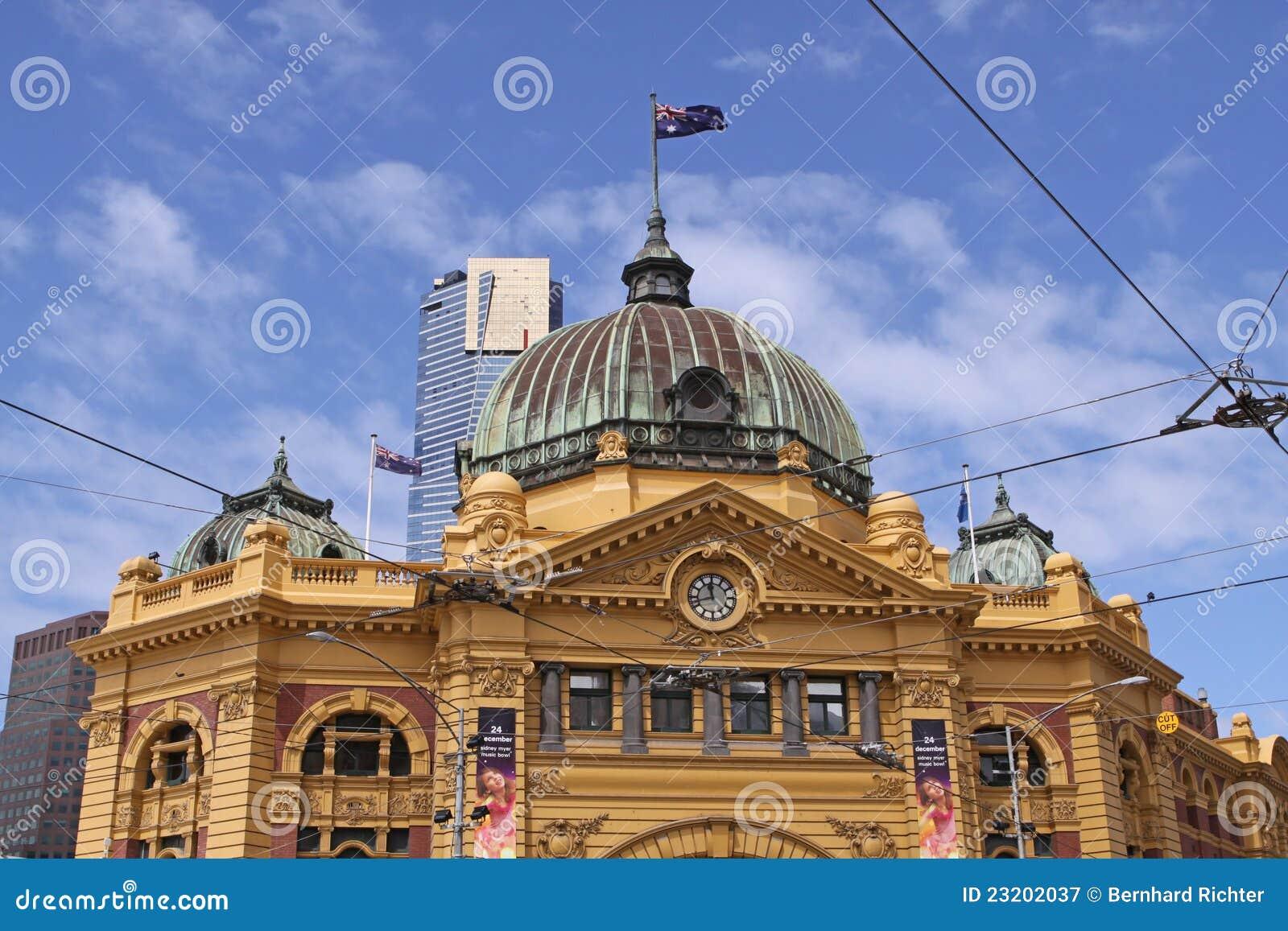 Estación de la calle del Flinders. Melbourne