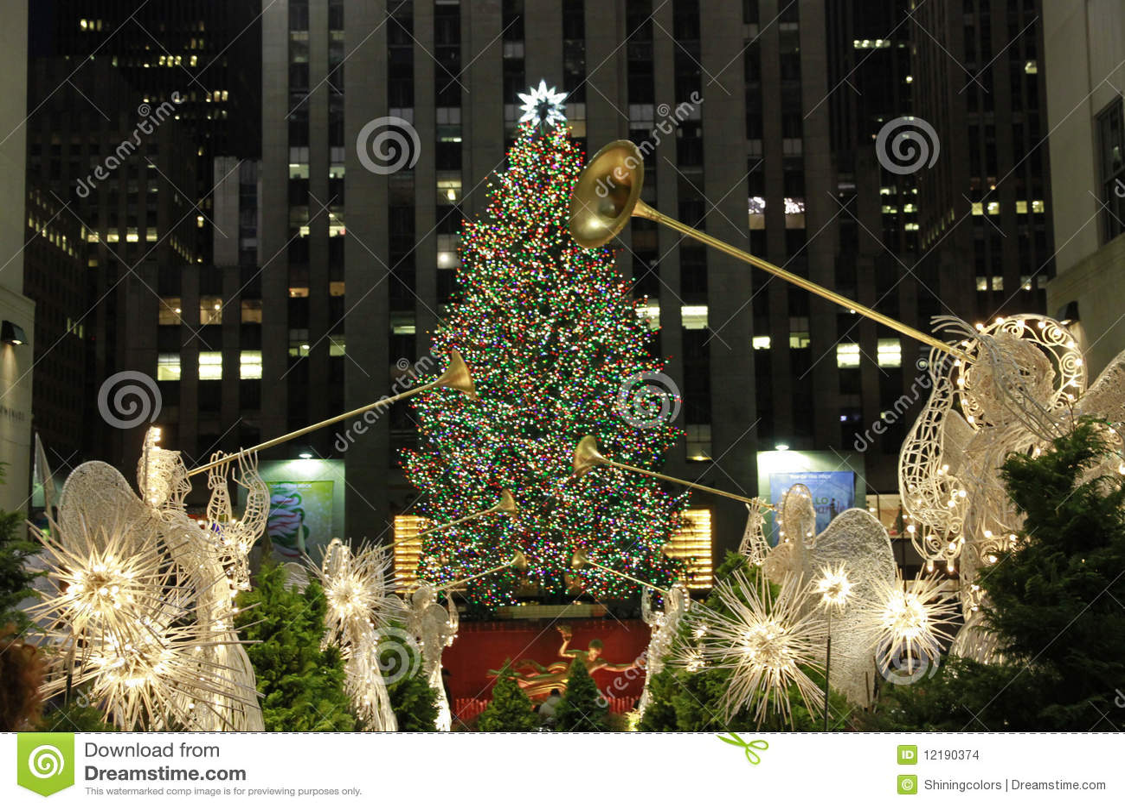 Estación de la Navidad en Nueva York