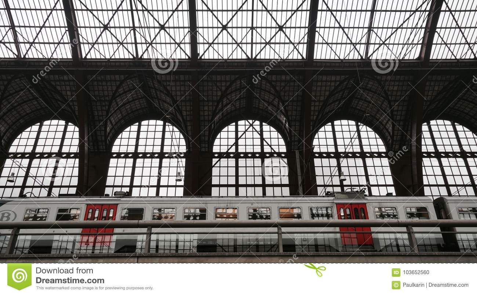 Estación de tren central de Amberes