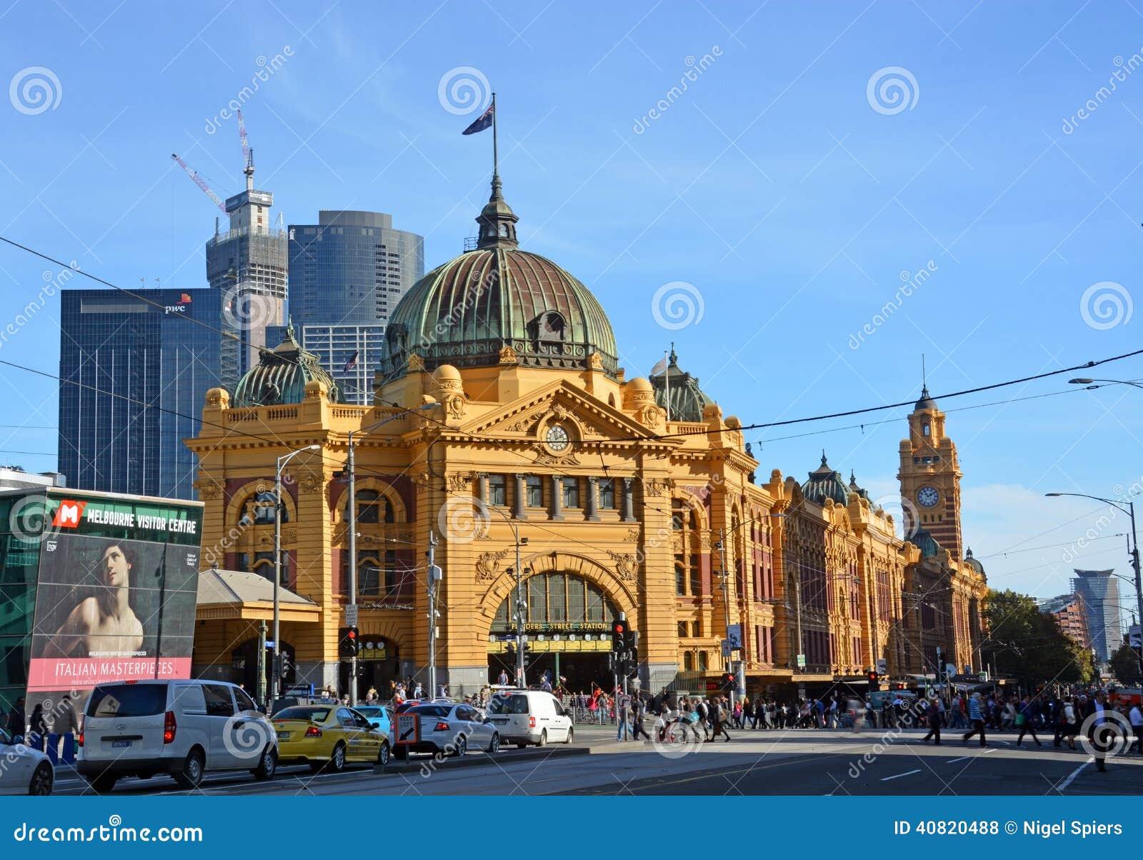 Estación de tren de la calle del Flinders, Melbourne