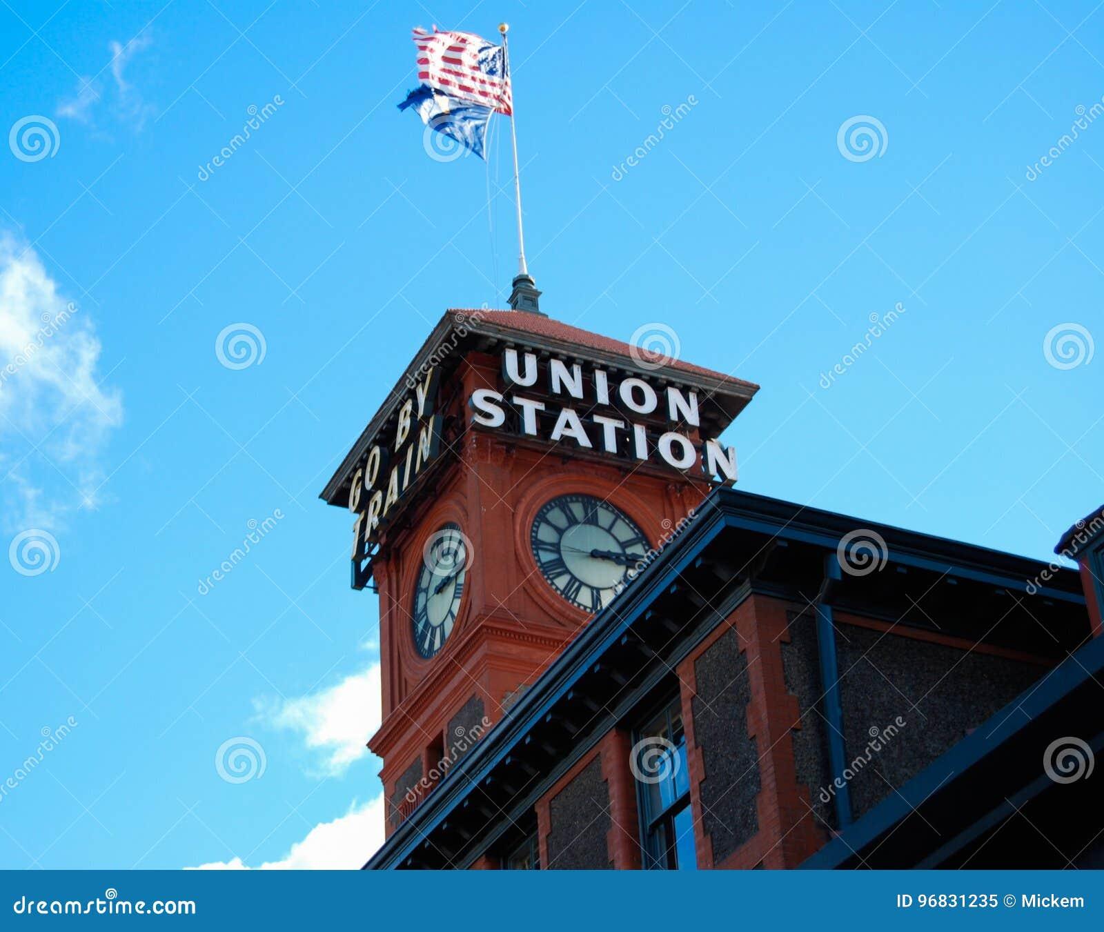 Estación de tren de la unión Seattle