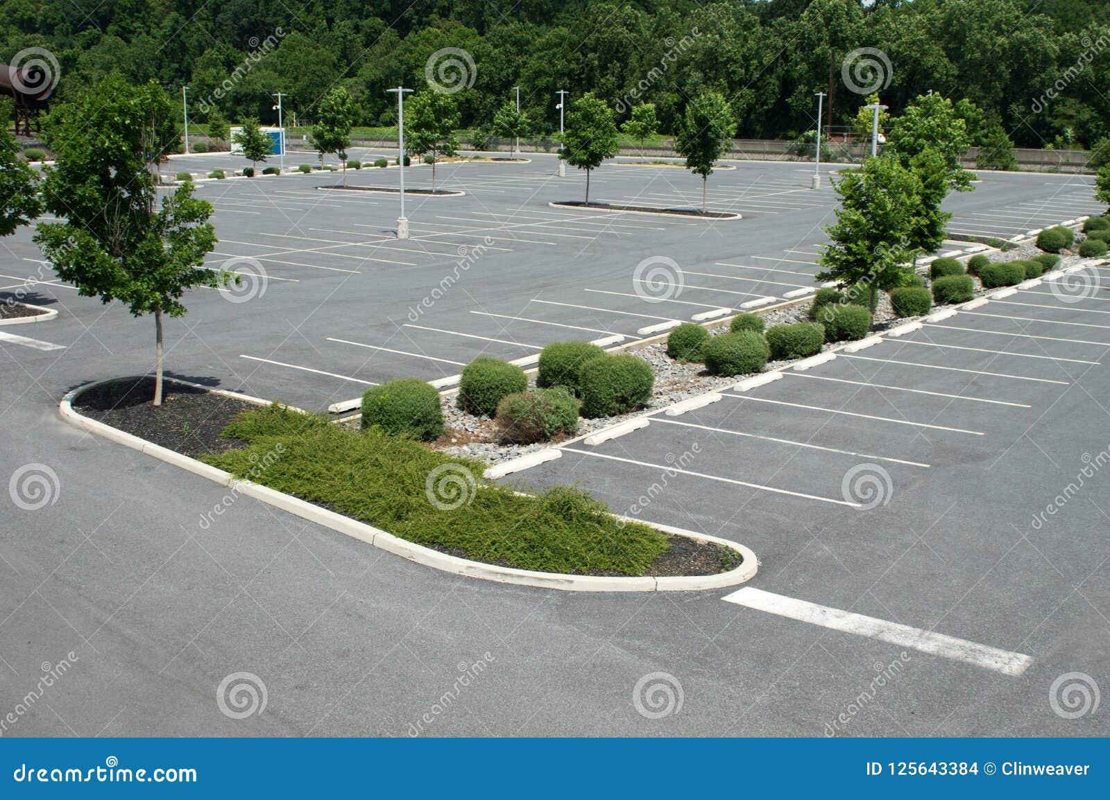 Estacionamiento para los vehículos