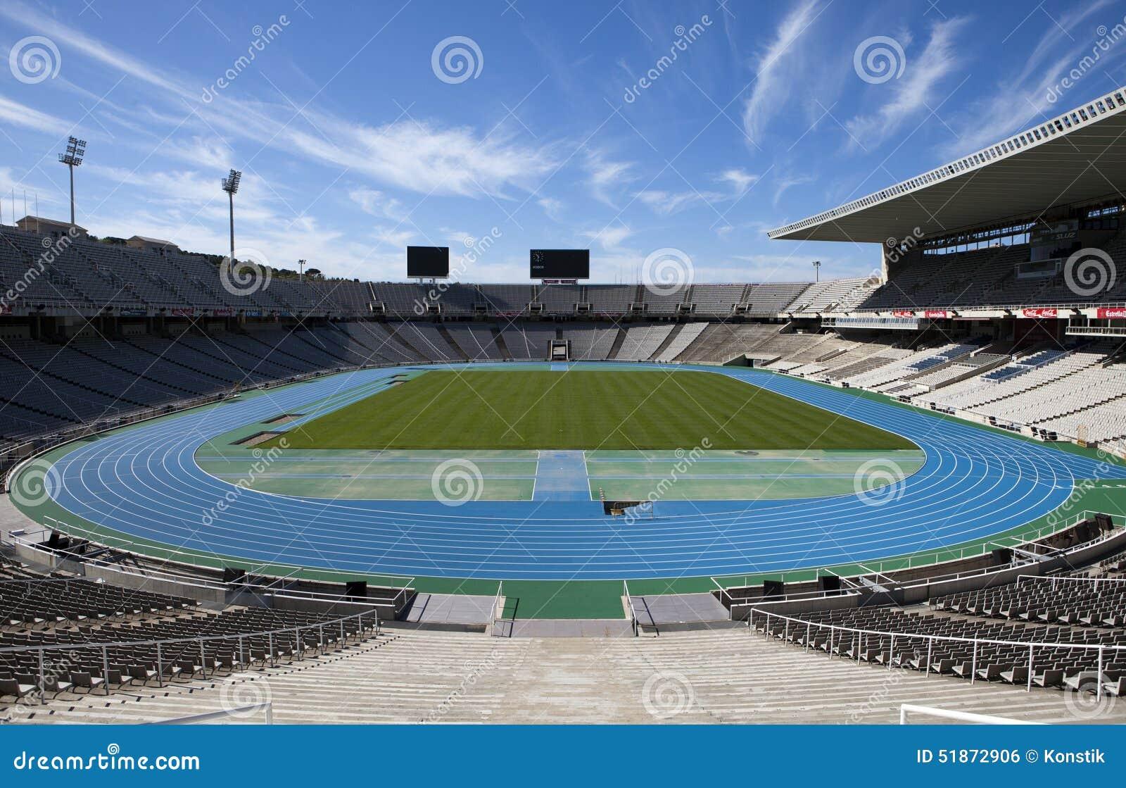 Estadi Olimpic Lluis Companys (Barcelone le Stade Olympique) le 10 mai 2010 à Barcelone, Espagne