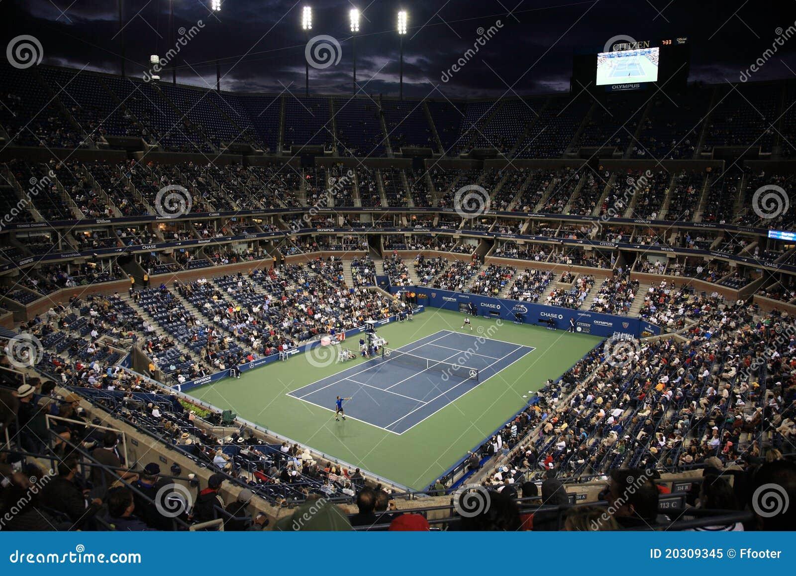 Estadio de Ashe - los E.E.U.U. abren tenis