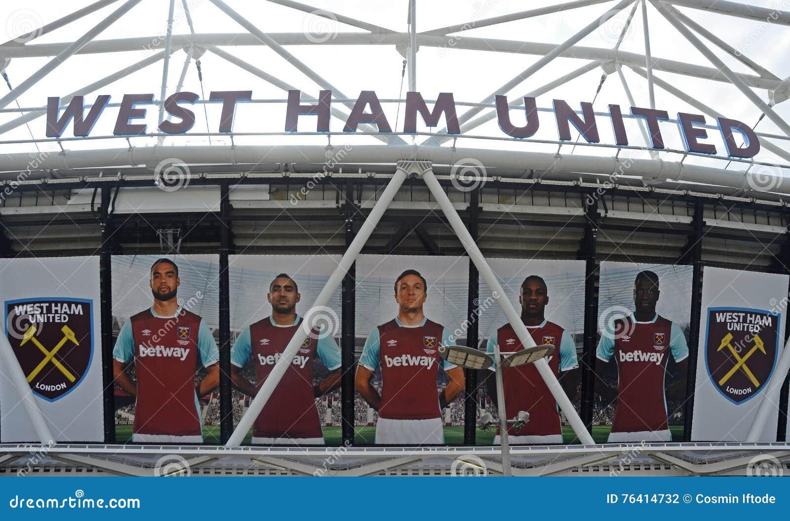 Estadio de Londres - detalle del exterior