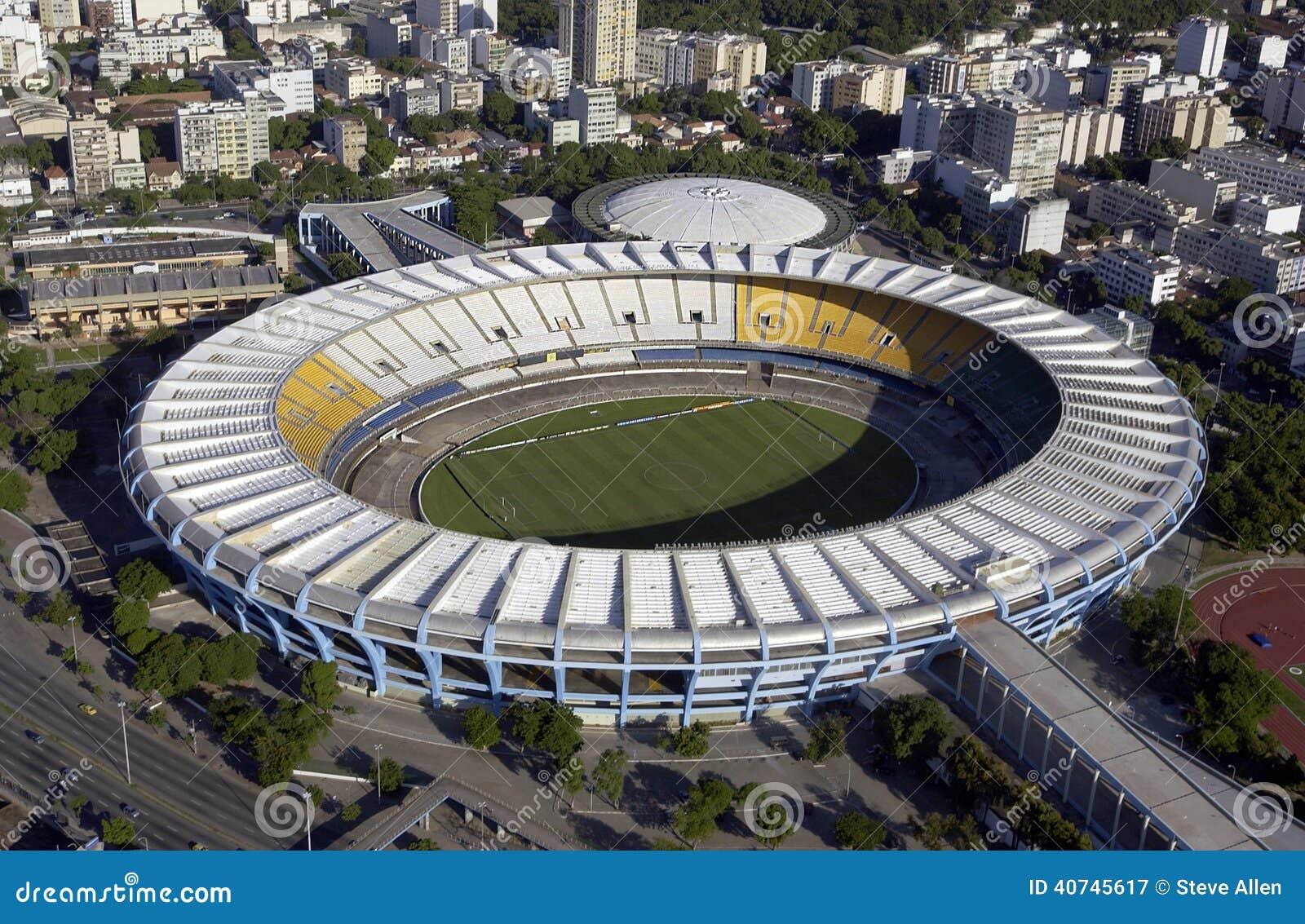 Estadio hace Maracana - el estadio de Maracana - Rio de Janeiro - el Brasil