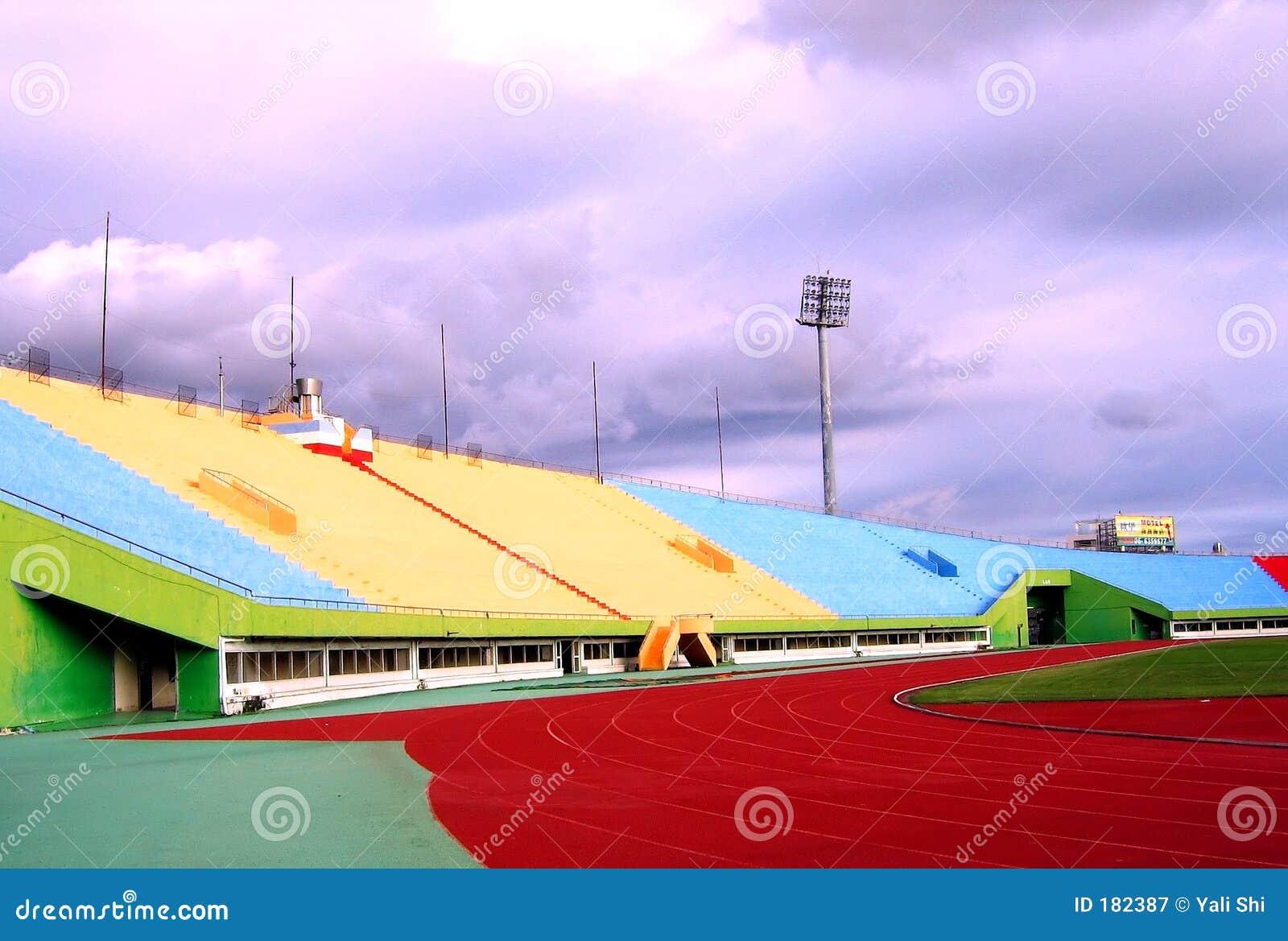 Estadio Sideview de los deportes