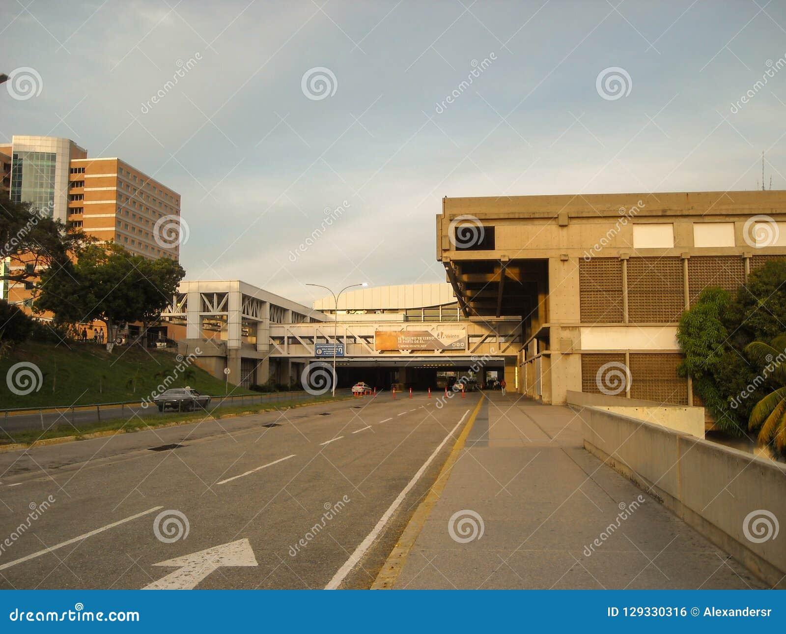 Estado/Venezuela de Guaira Vargas do La 08/11/2018 de aeroporto internacional Simon Bolivar Maiquetia Editorial