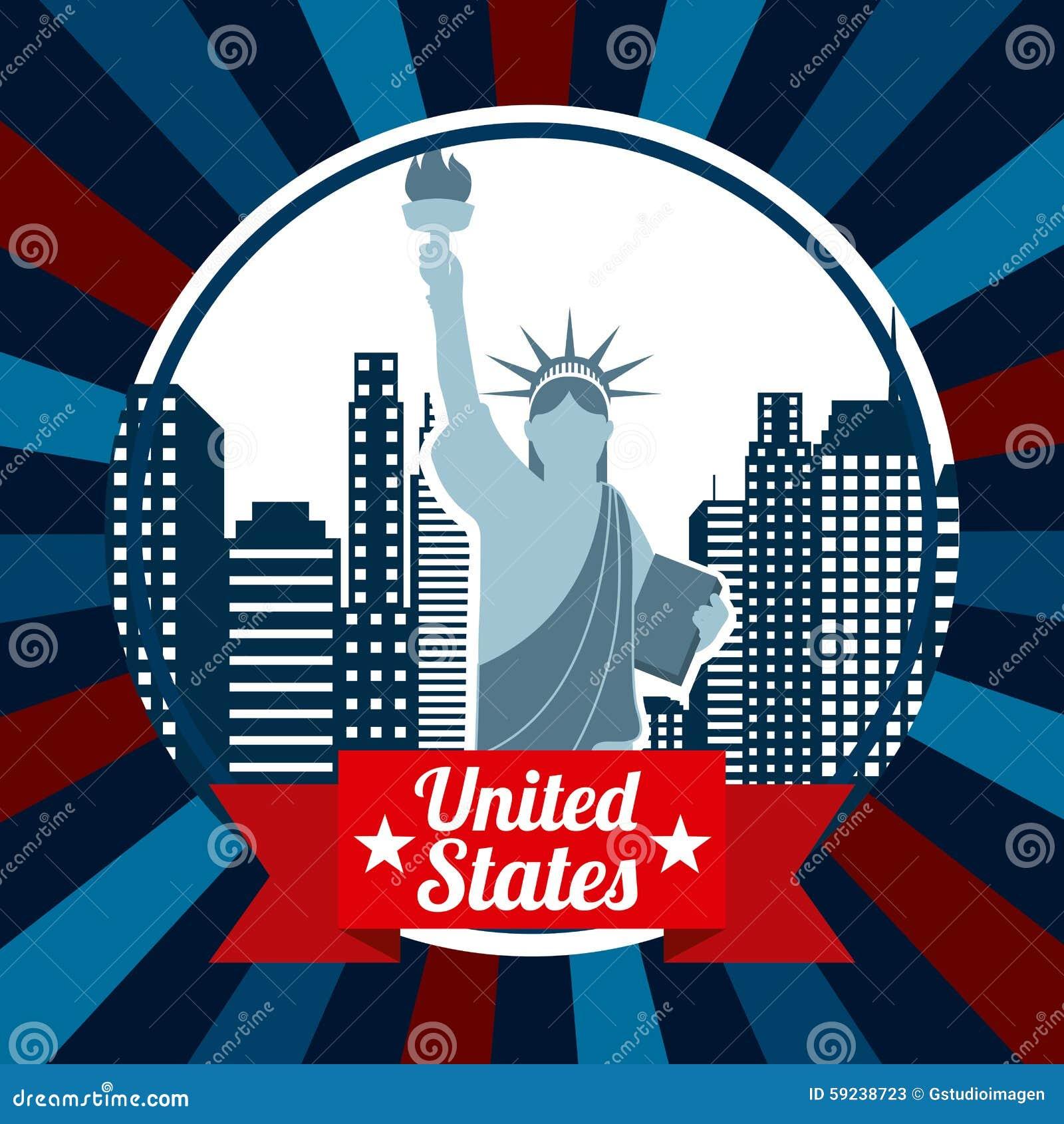 Estados Unidos simbolizan