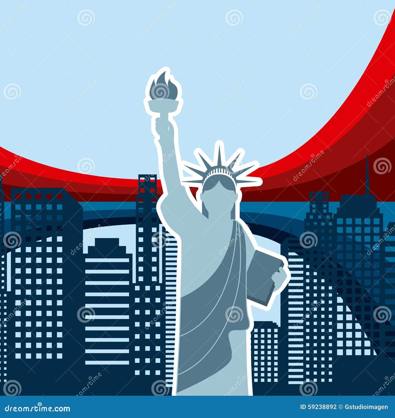 Download Estados Unidos simbolizan stock de ilustración. Ilustración de gráfico - 59238892