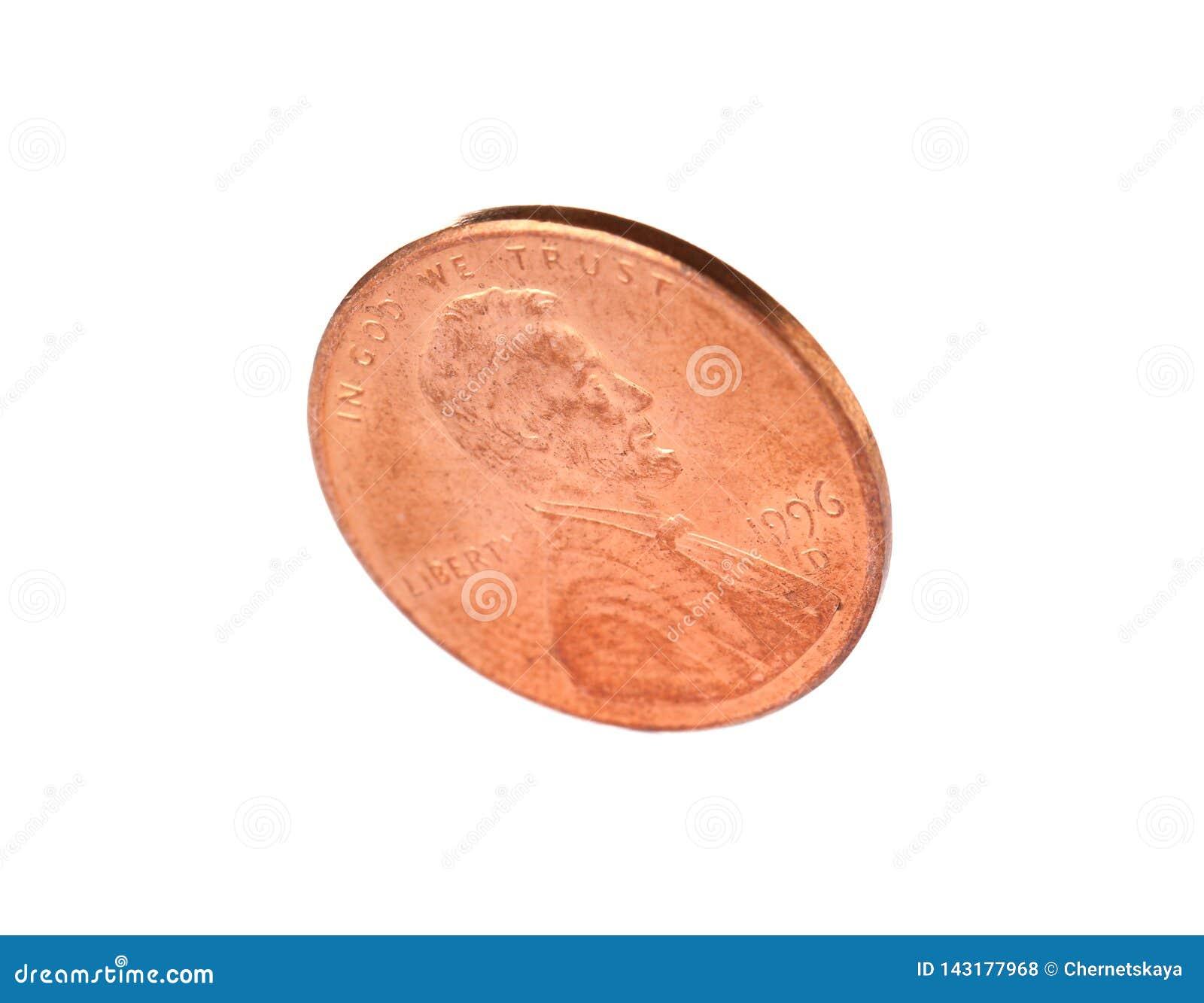 Estados Unidos uma moeda do centavo