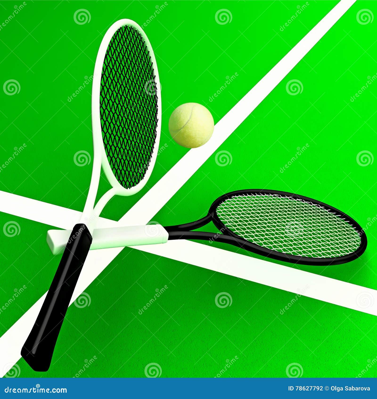 Tenis pelota stock de ilustracion ilustracion libre de stock de - Estafas De Tenis Y Pelota De Tenis Contra La Perspectiva De Los Diez