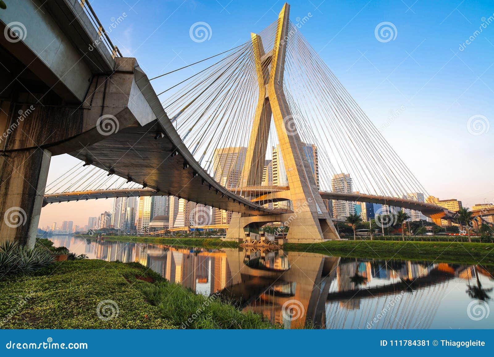 Estaiada-Brücke - Sao Paulo - Brasilien