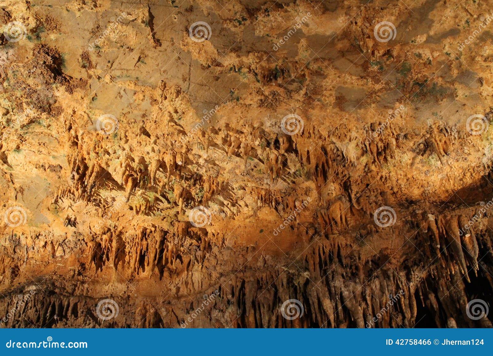 Estalactitas de las cavernas de Luray