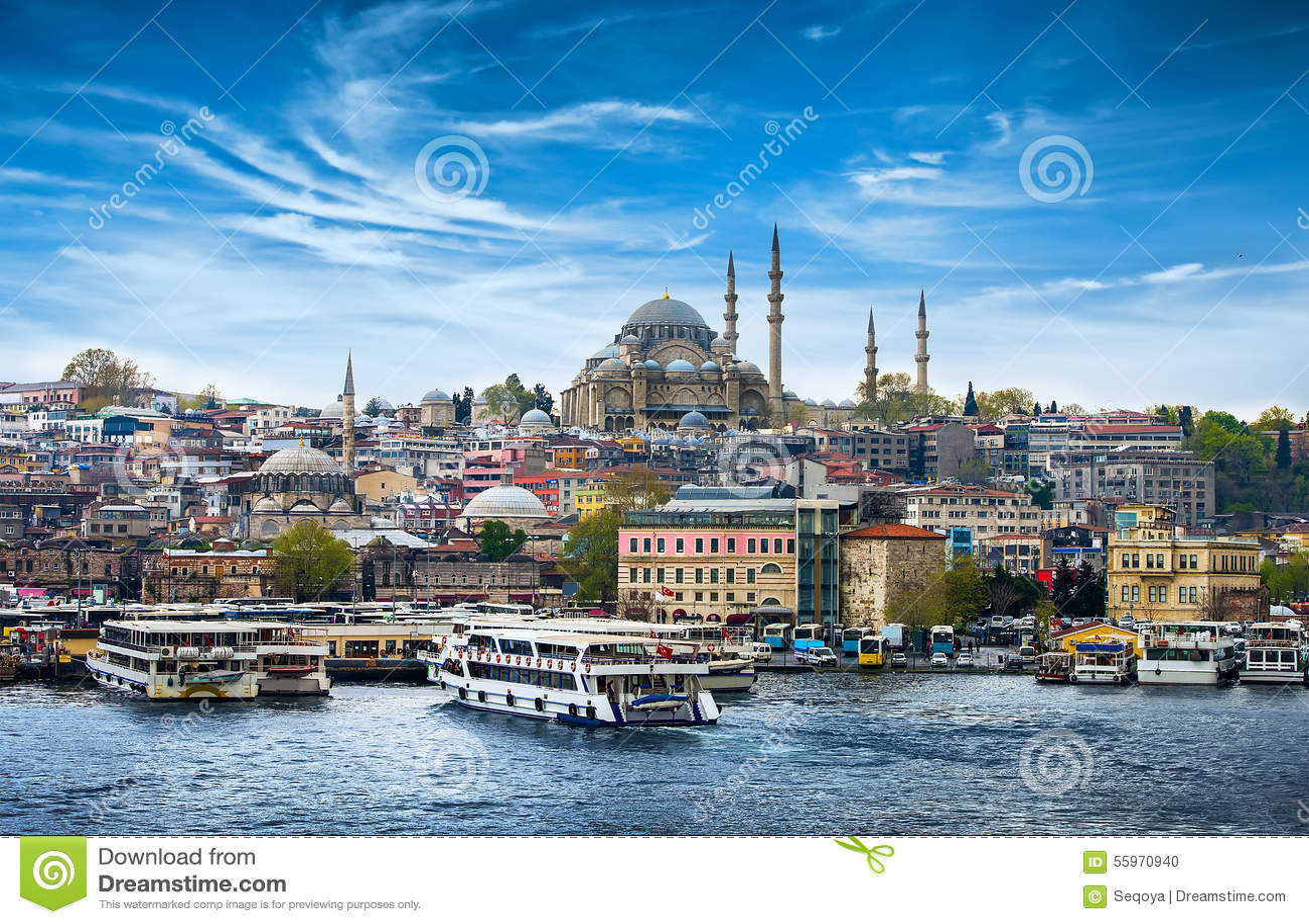 Estambul la capital de Turquía