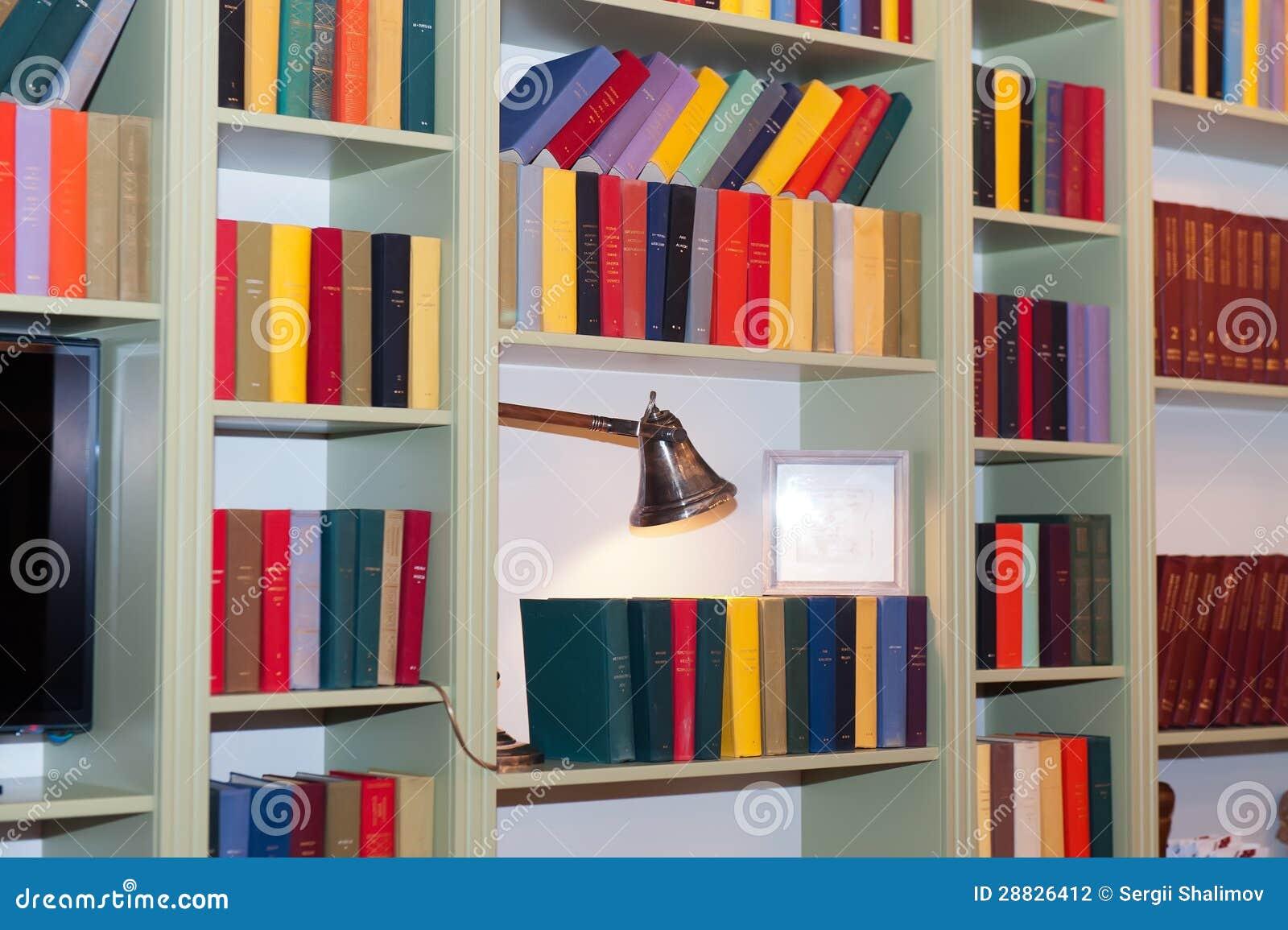 Estante para libros fotograf a de archivo imagen 28826412 - Estantes para libros ...