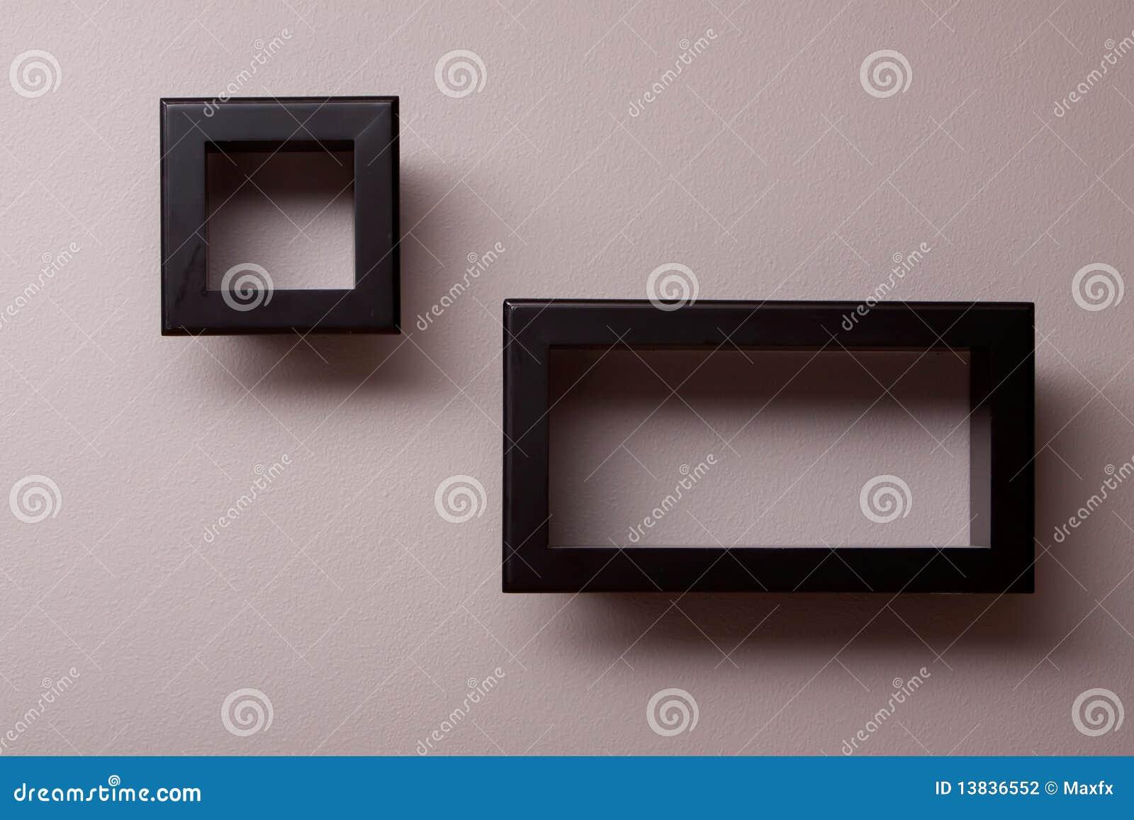 estantes pared