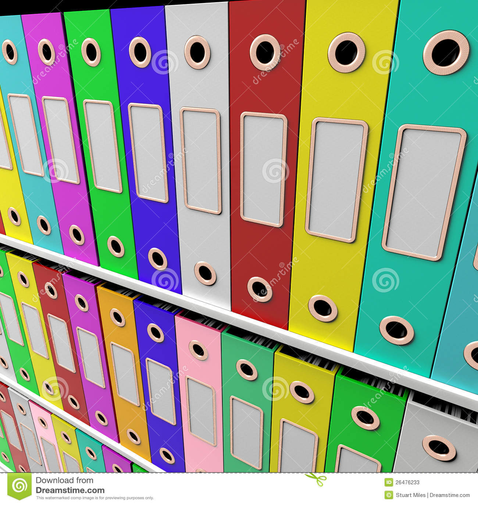 Estantes de los ficheros para conseguir papeleo ordenado for Ficheros para oficina