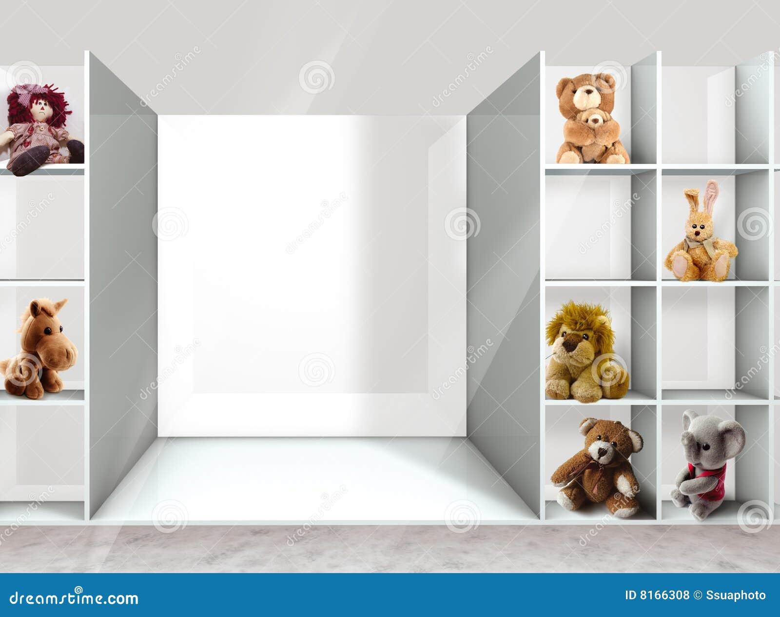 Estantes y juguetes fotos de archivo libres de regal as - Estantes para juguetes ...