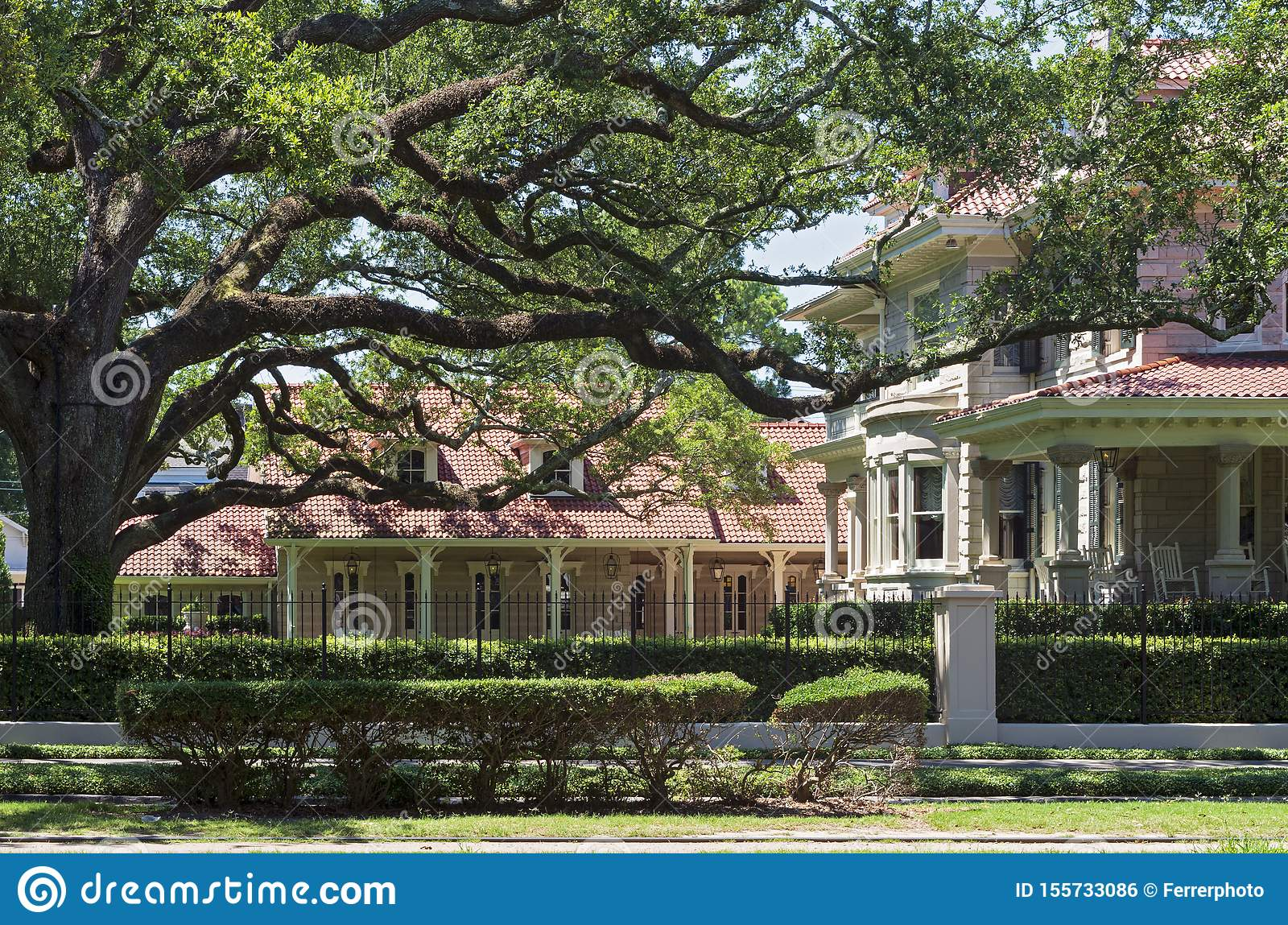 Estate and Carriage House of Landmark Home in New Orleans