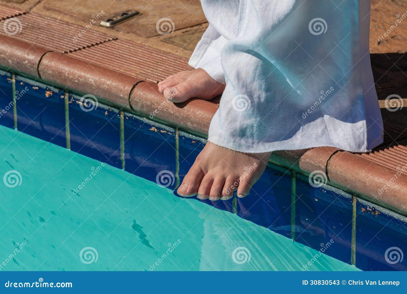 Estate del piede della prova di acqua dello stagno