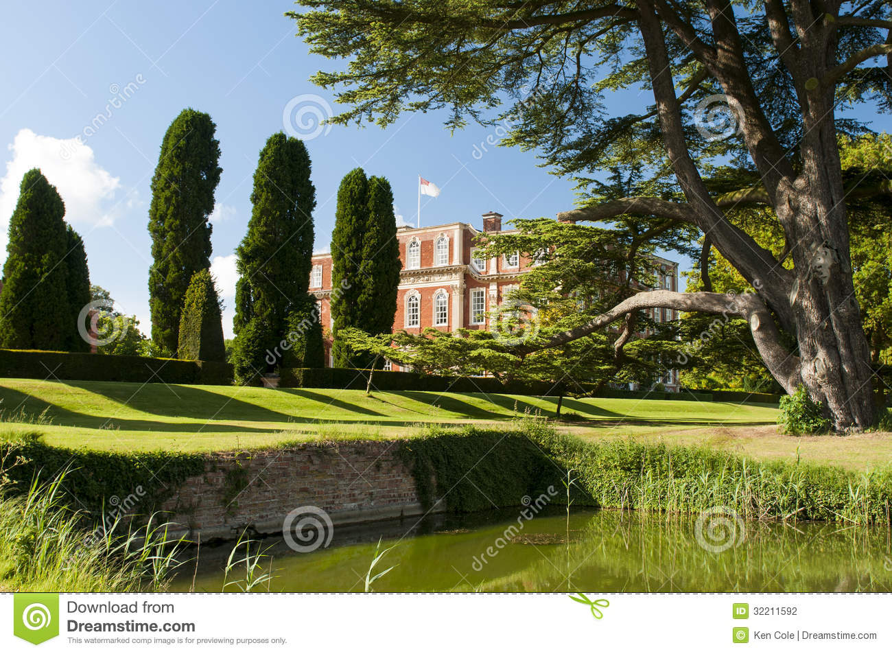 Home Landscape Design App Estate Grounds Landscaping Stock Photography Image 32211592