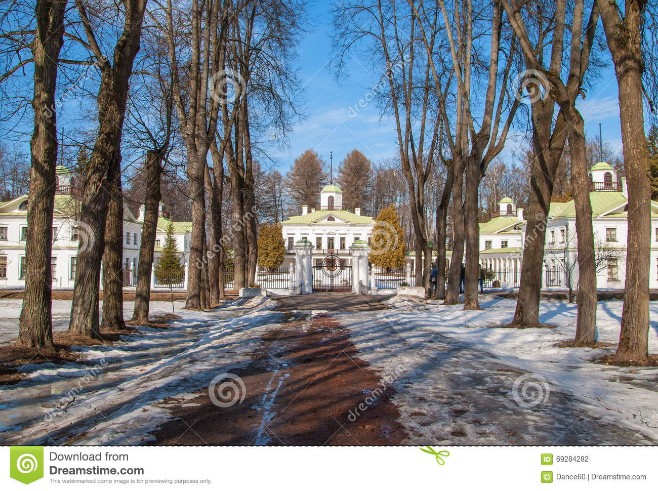 Estate Near Moscow Serednikovo Editorial Photography - Image of site