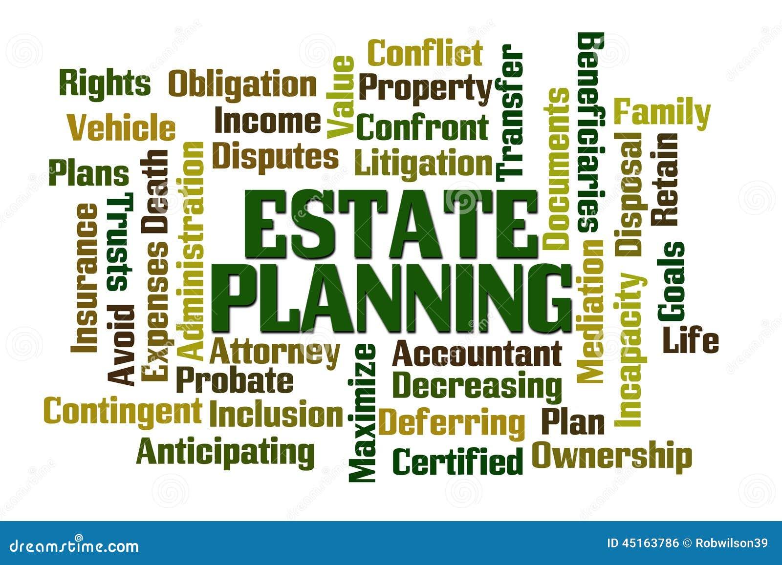 Estate Planning Stock Illustration Image 45163786