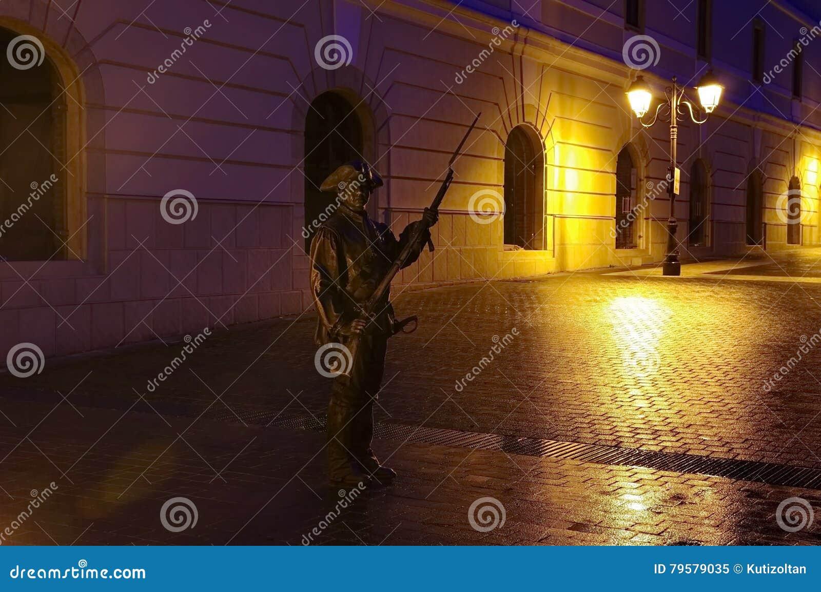 Estatua armada del soldado