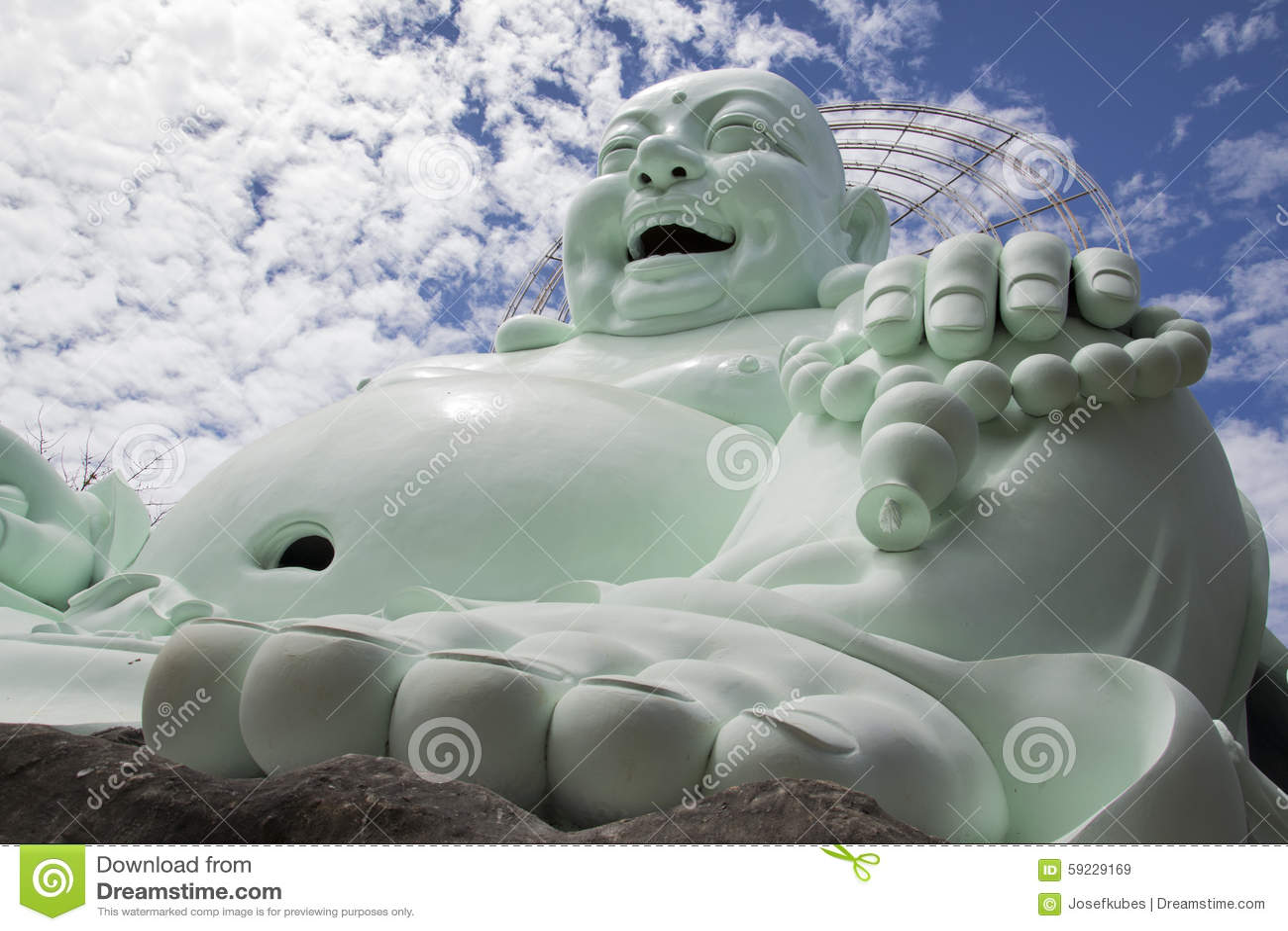 Download Estatua De Buda Que Se Sienta Y Sonriente Imagen de archivo - Imagen de religioso, budista: 59229169