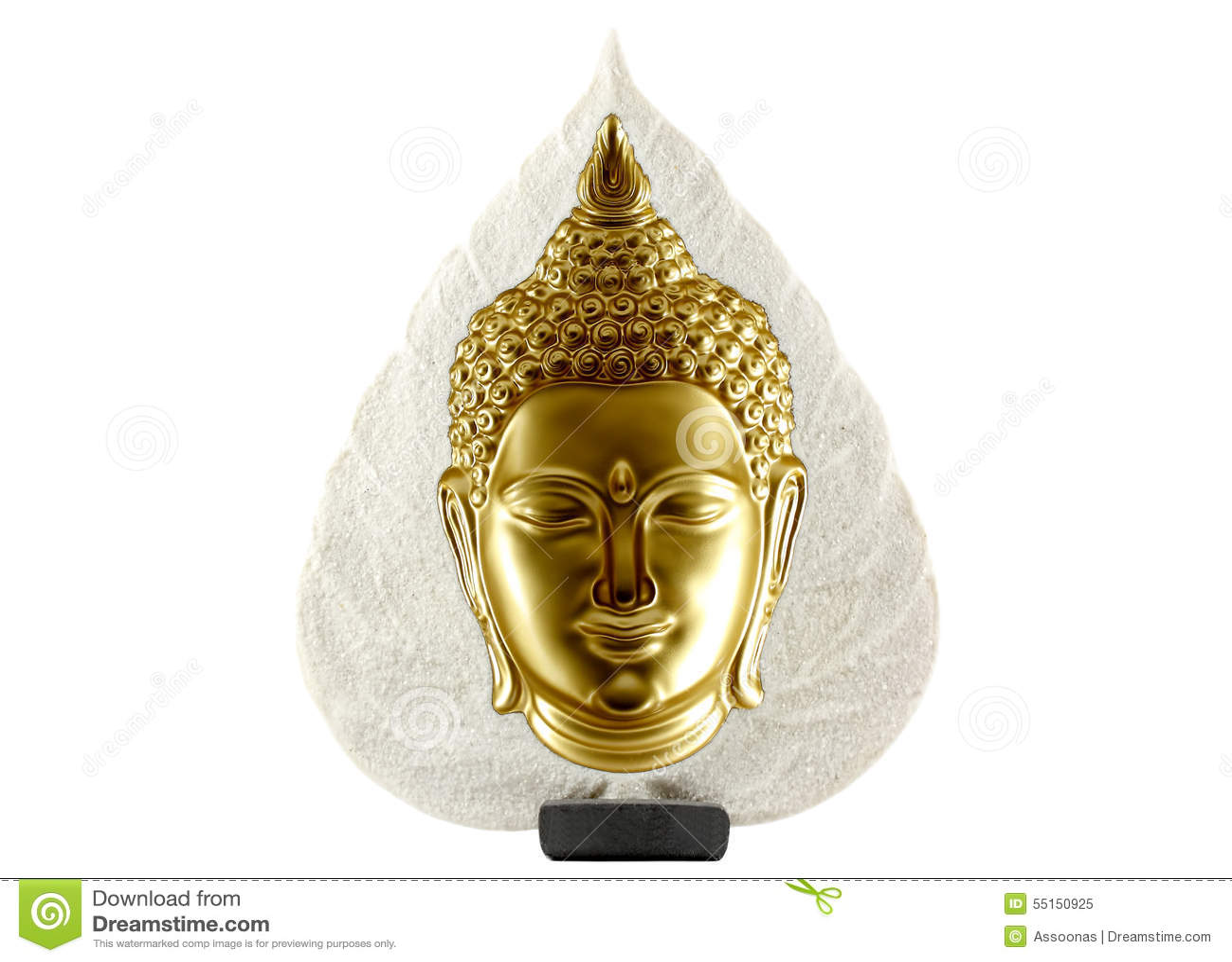 Estatua de Buddha aislada