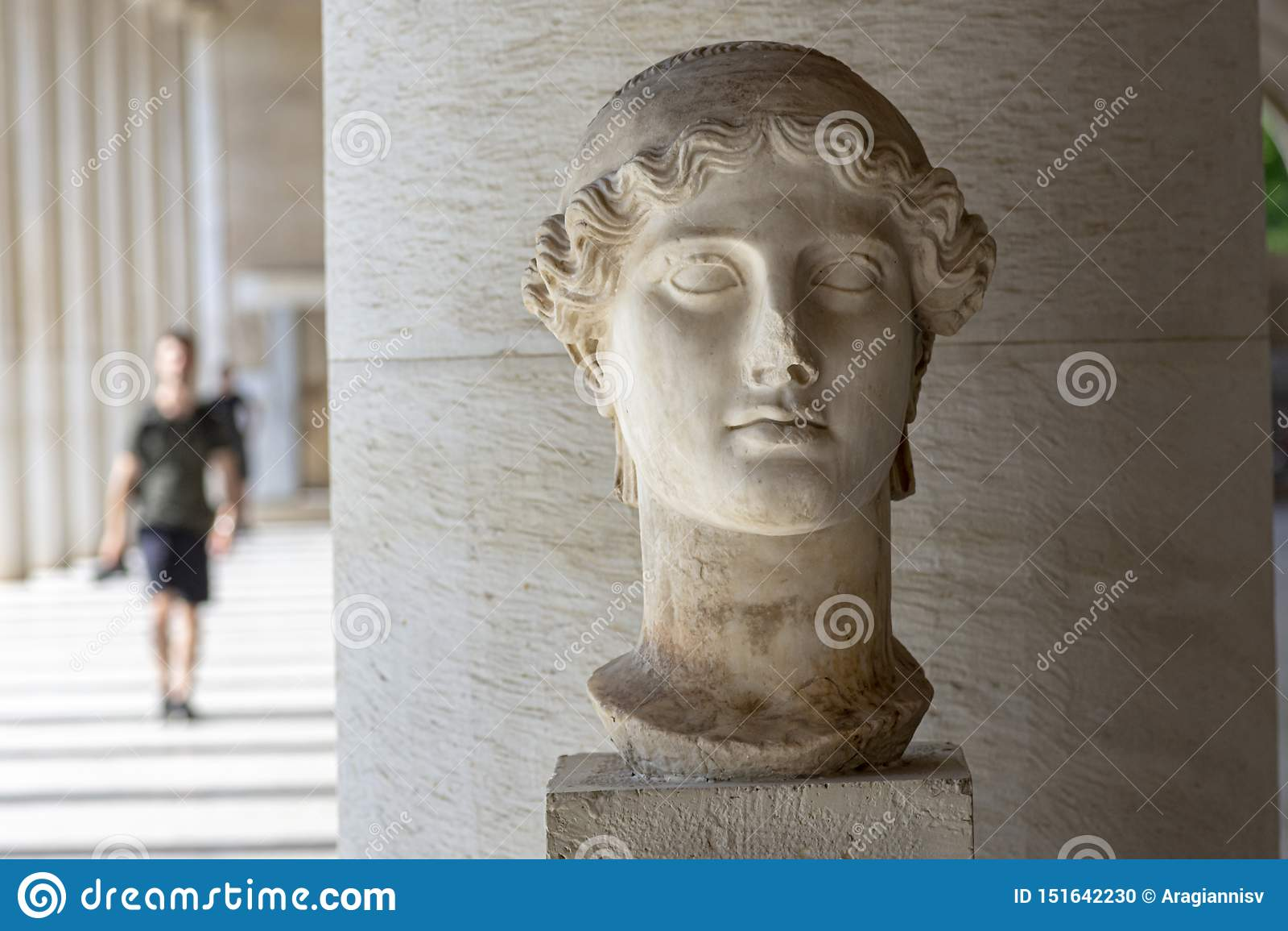Estatua de la diosa griega Nike