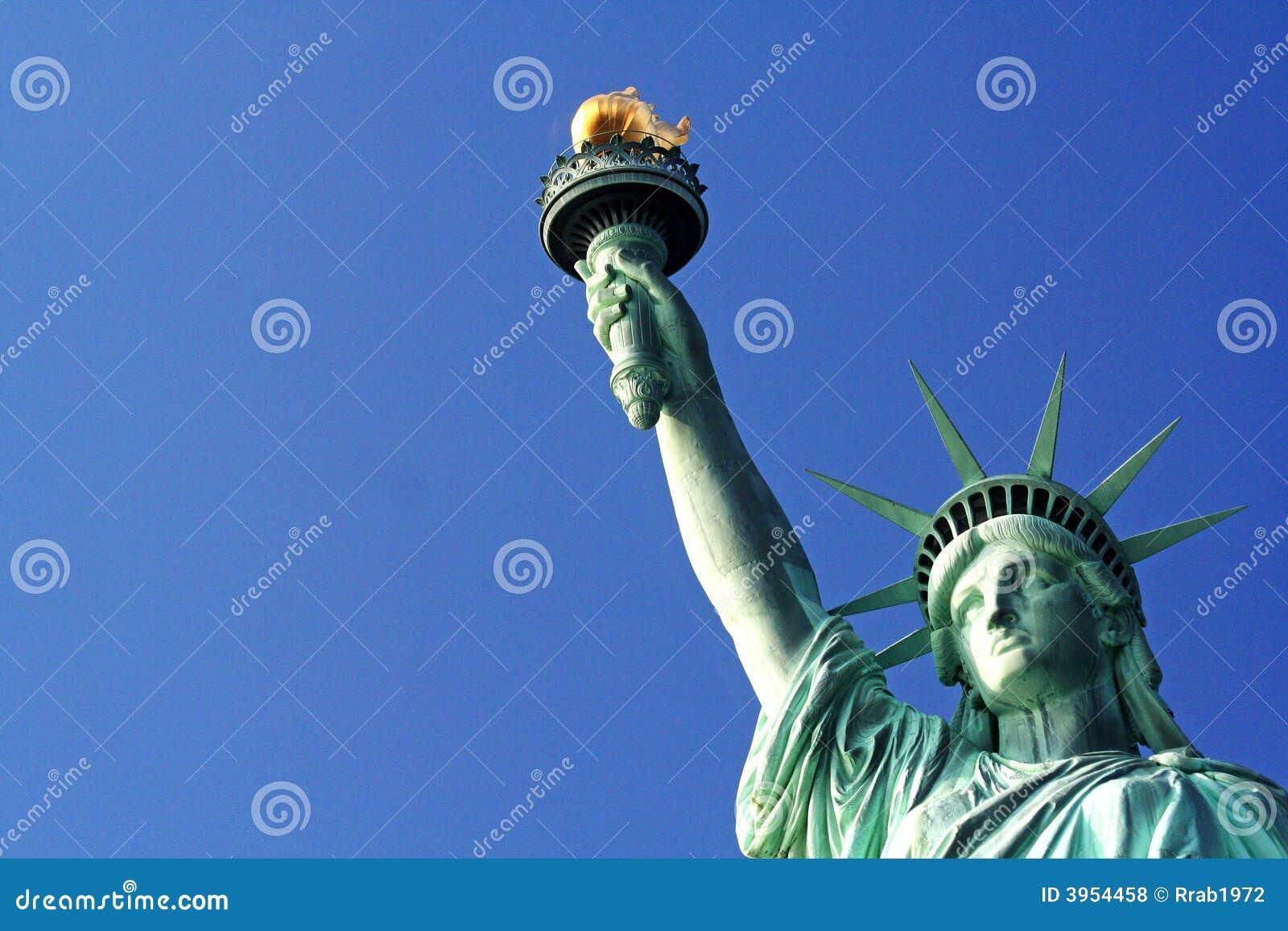 Estatua de la libertad New York City los E.E.U.U.