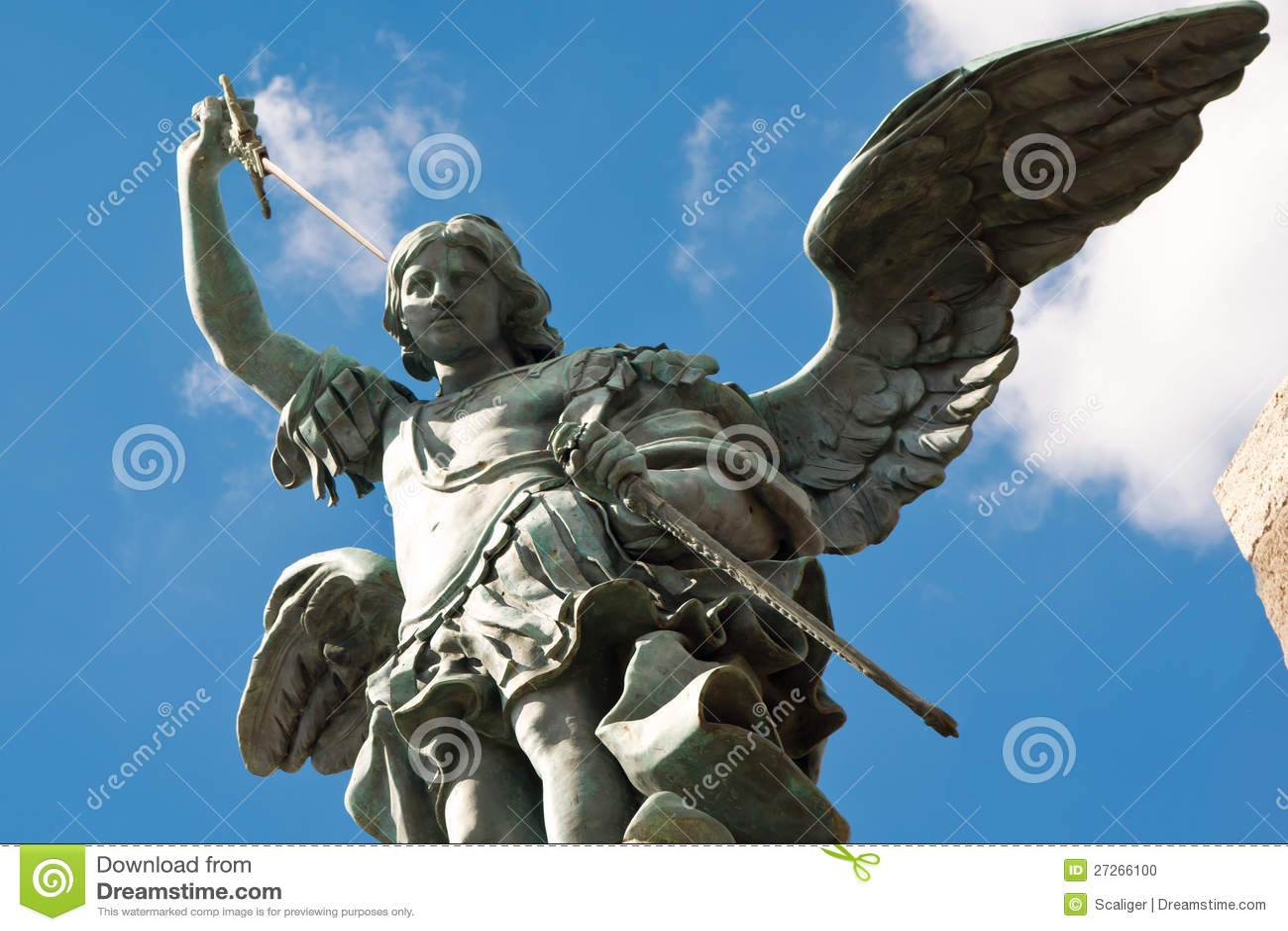 Estatua de san miguel castel sant 39 angelo roma foto de for Europeo arredamenti mosciano sant angelo