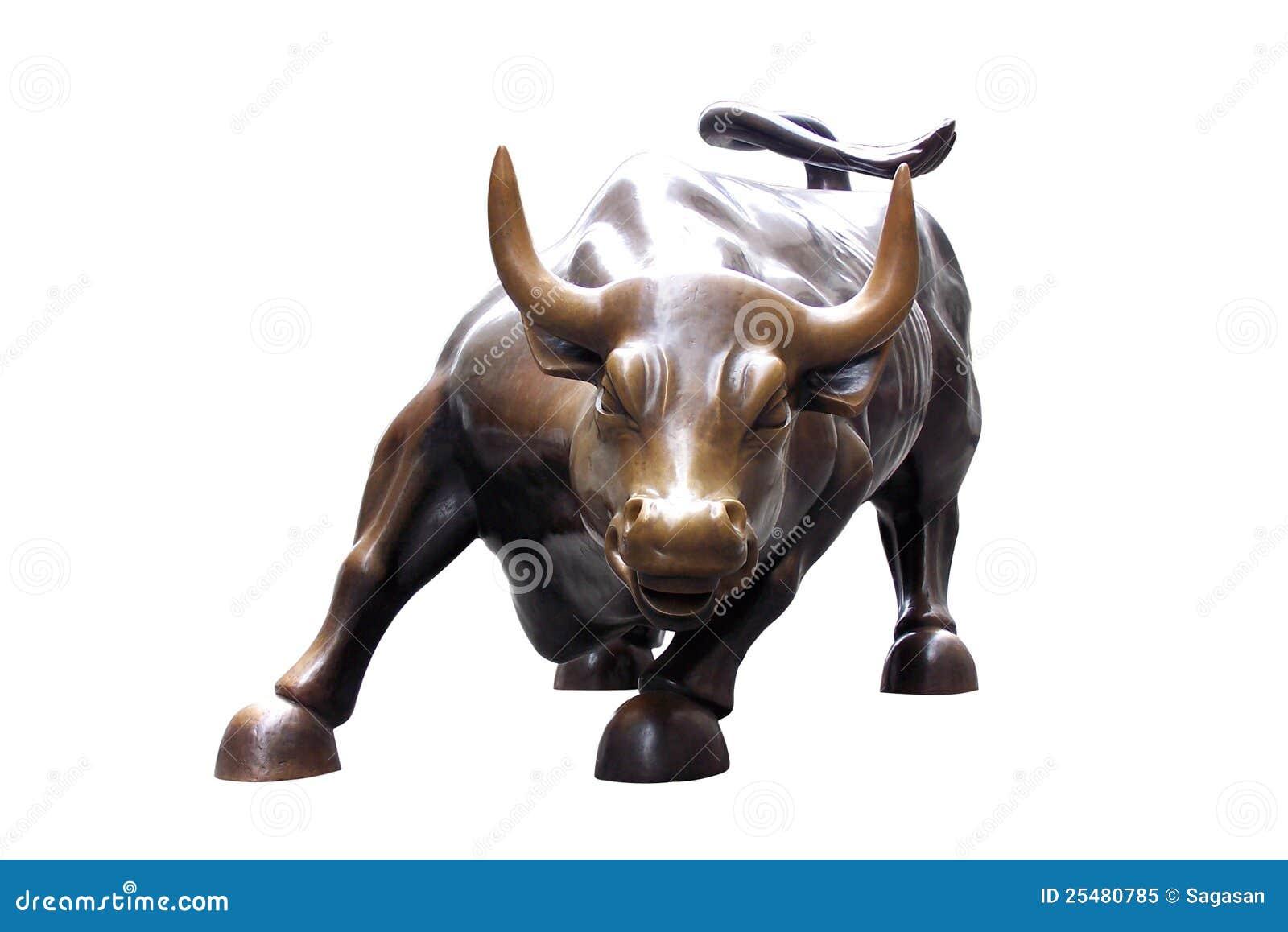 Estatua de un toro