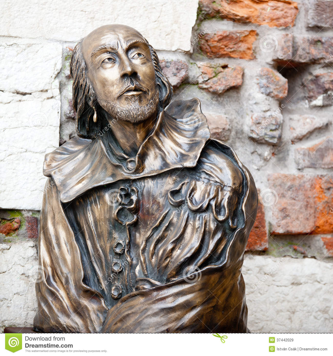 Estatua de William Shakespeare