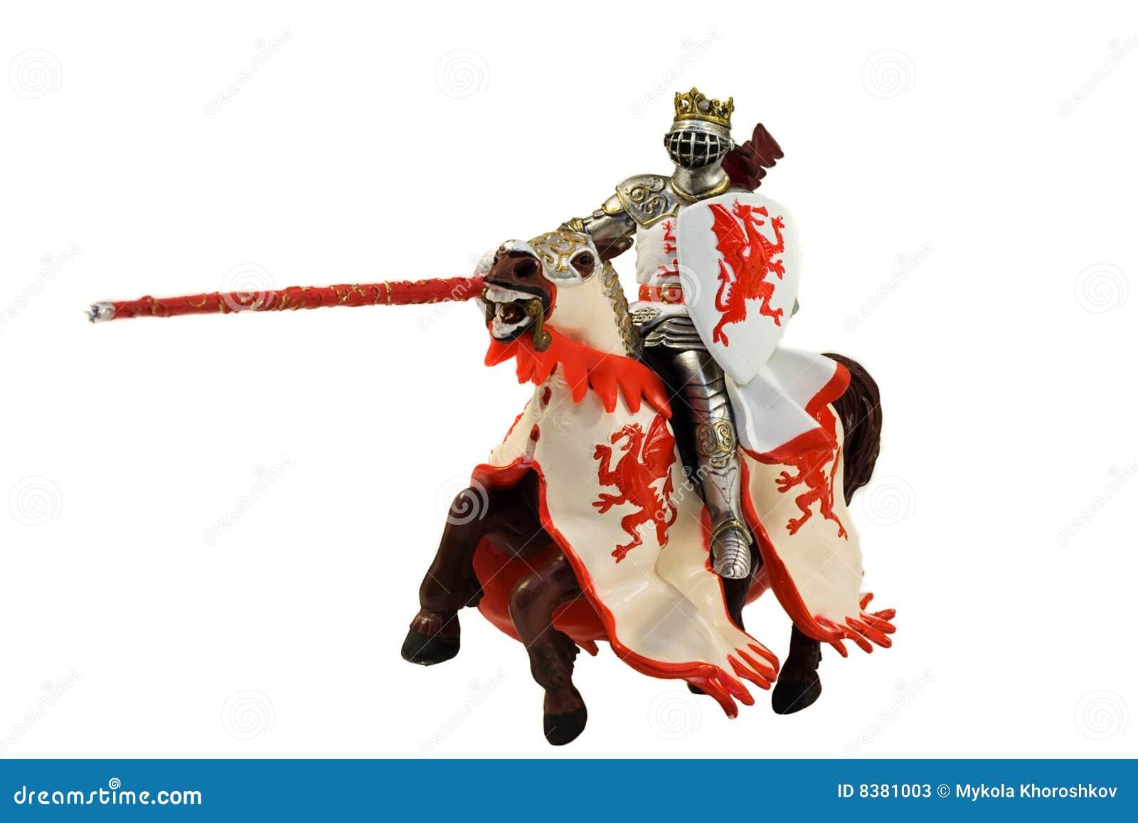 Estatua Del Caballero Medieval En Caballo Imagen de archivo - Imagen ...
