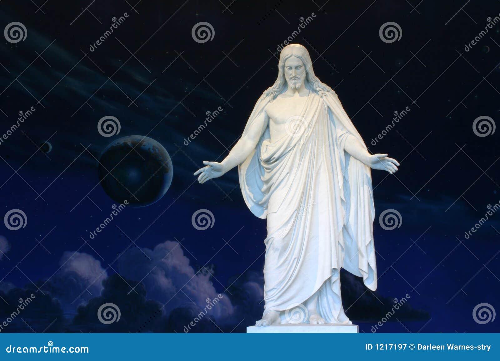 Estatua Del Jesucristo Imagen De Archivo Imagen De Jesús