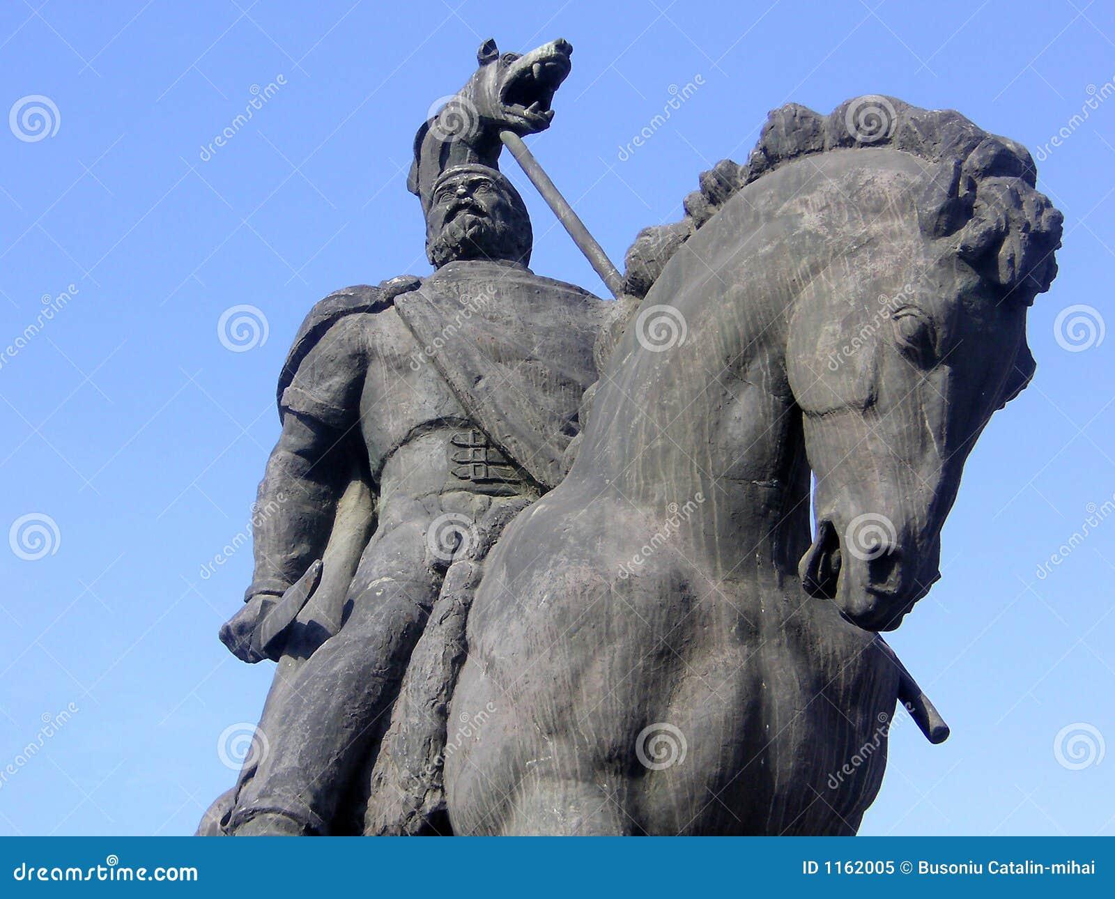 Estatua del `s de Decebal.