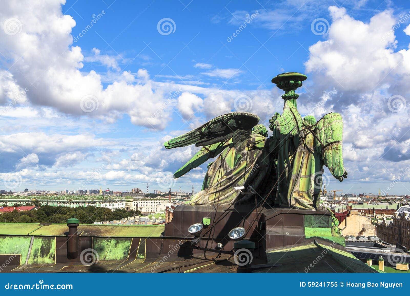Download Estatua En La Catedral De Isaac Del Santo, St Petersburg Imagen de archivo - Imagen de cultura, países: 59241755