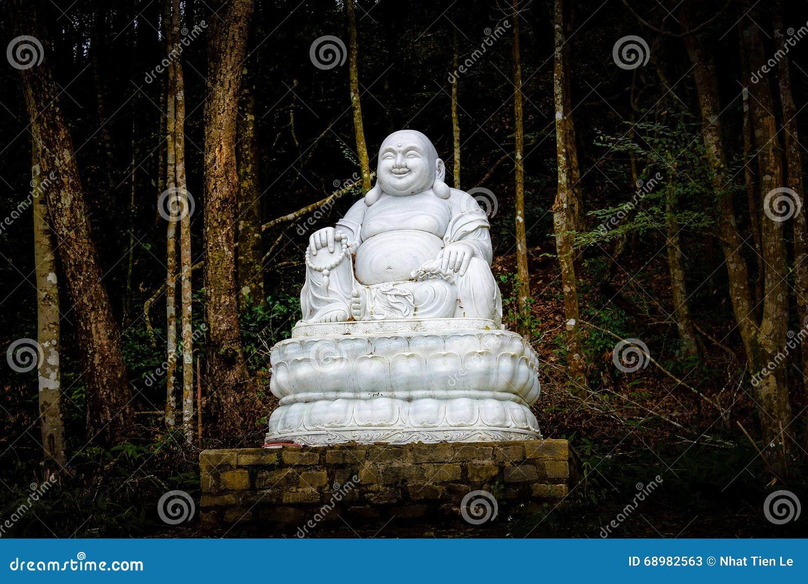 Estatua gorda de Buddha