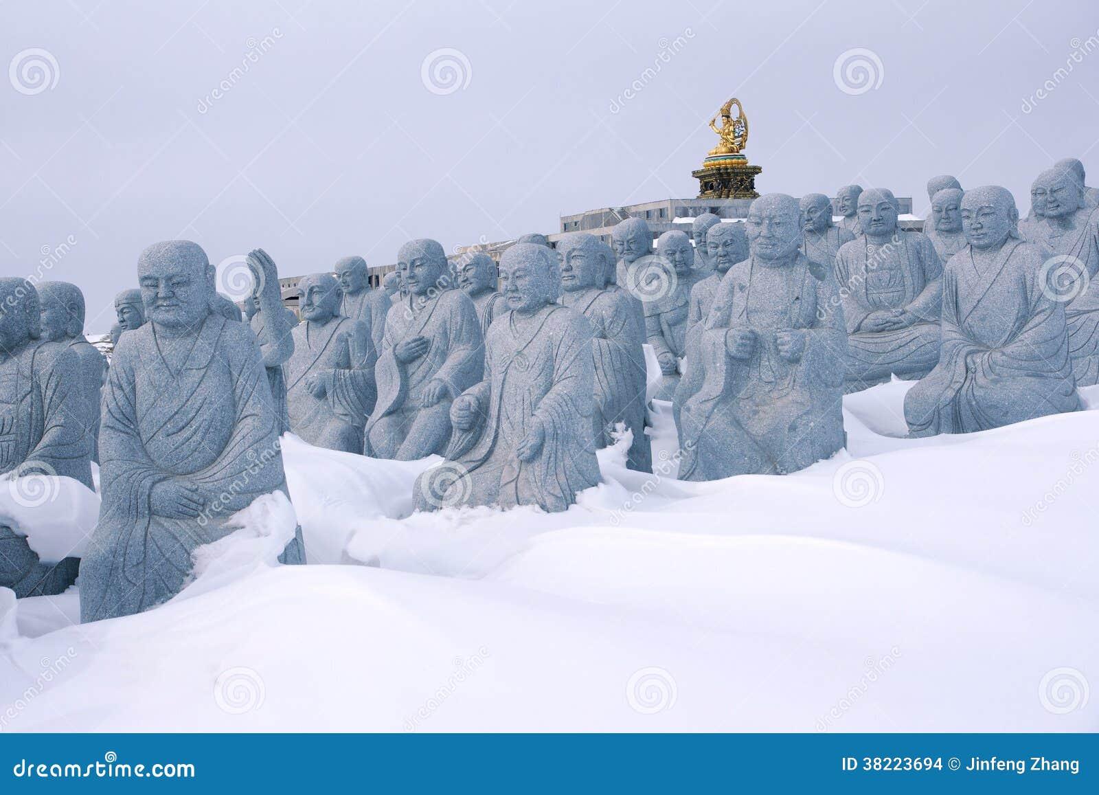Estatuas de Arhat