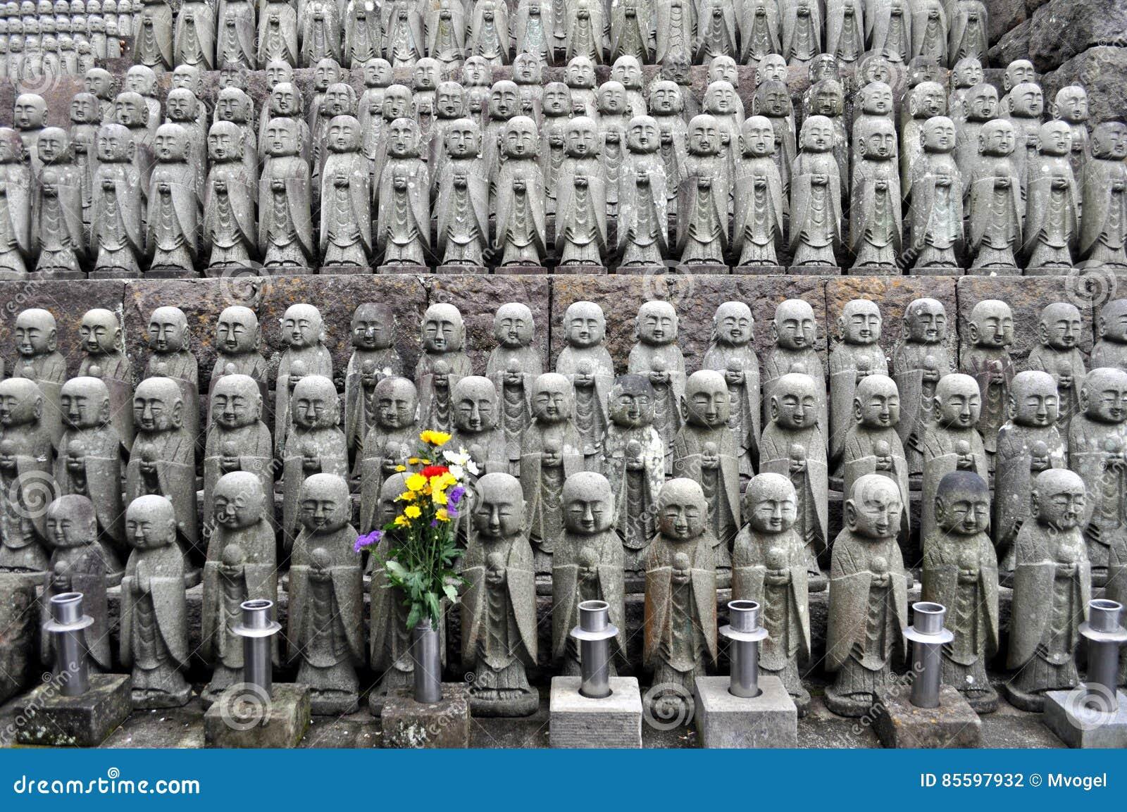 Estatuas del templo de Hase-dera